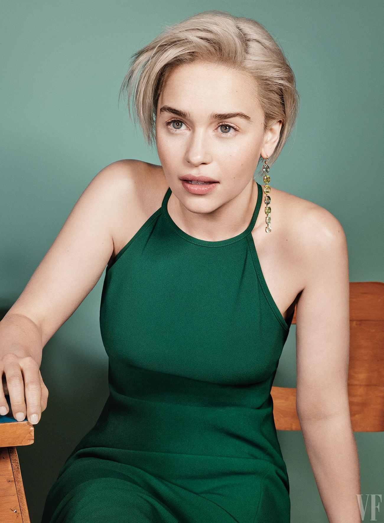 Emilia Clarke en Vanity Fair - No Es País Para Cinéfilos