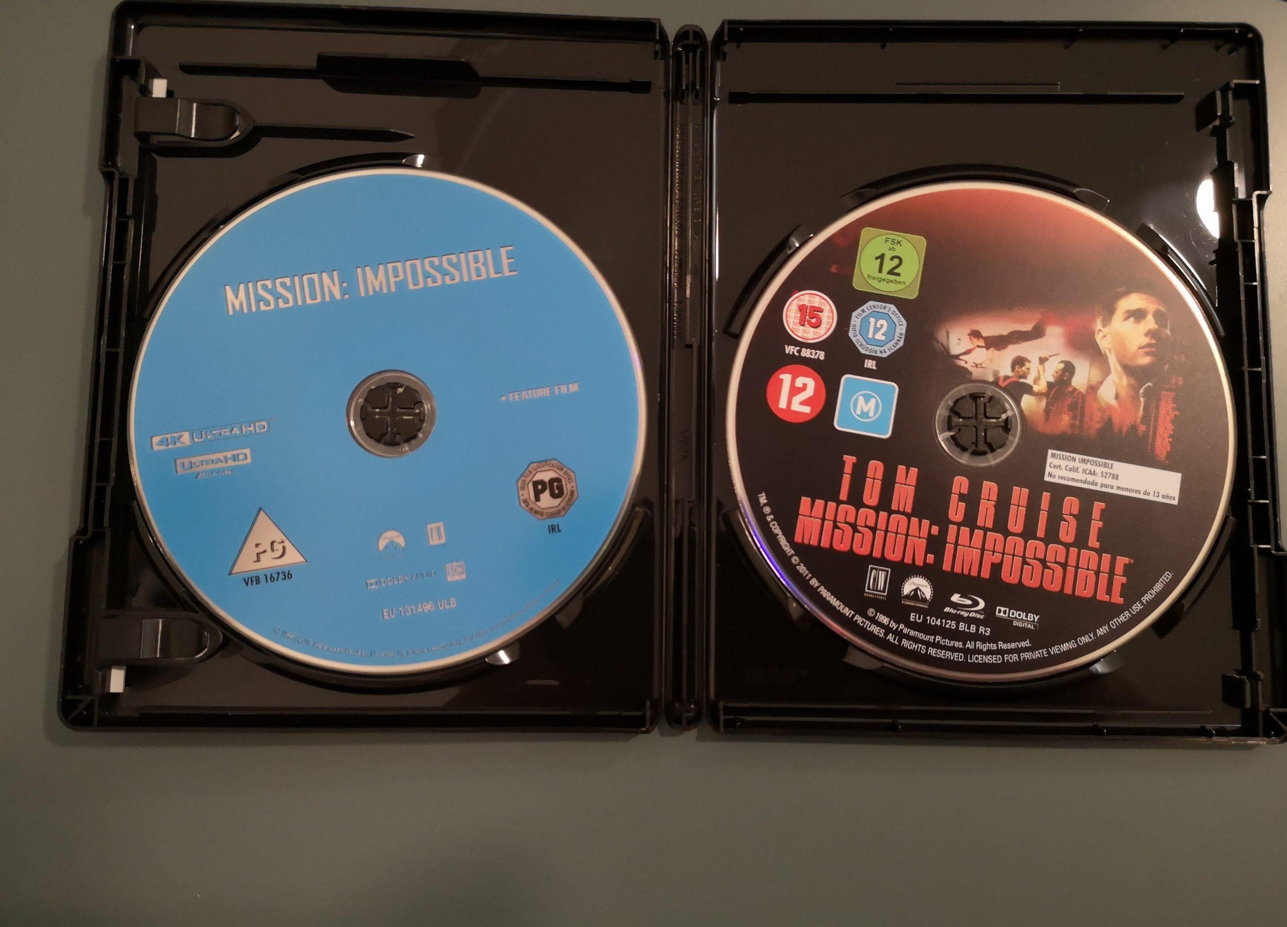 Misión Imposible Discos