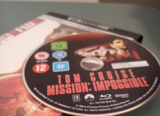 Misión Imposible Disco Bluray
