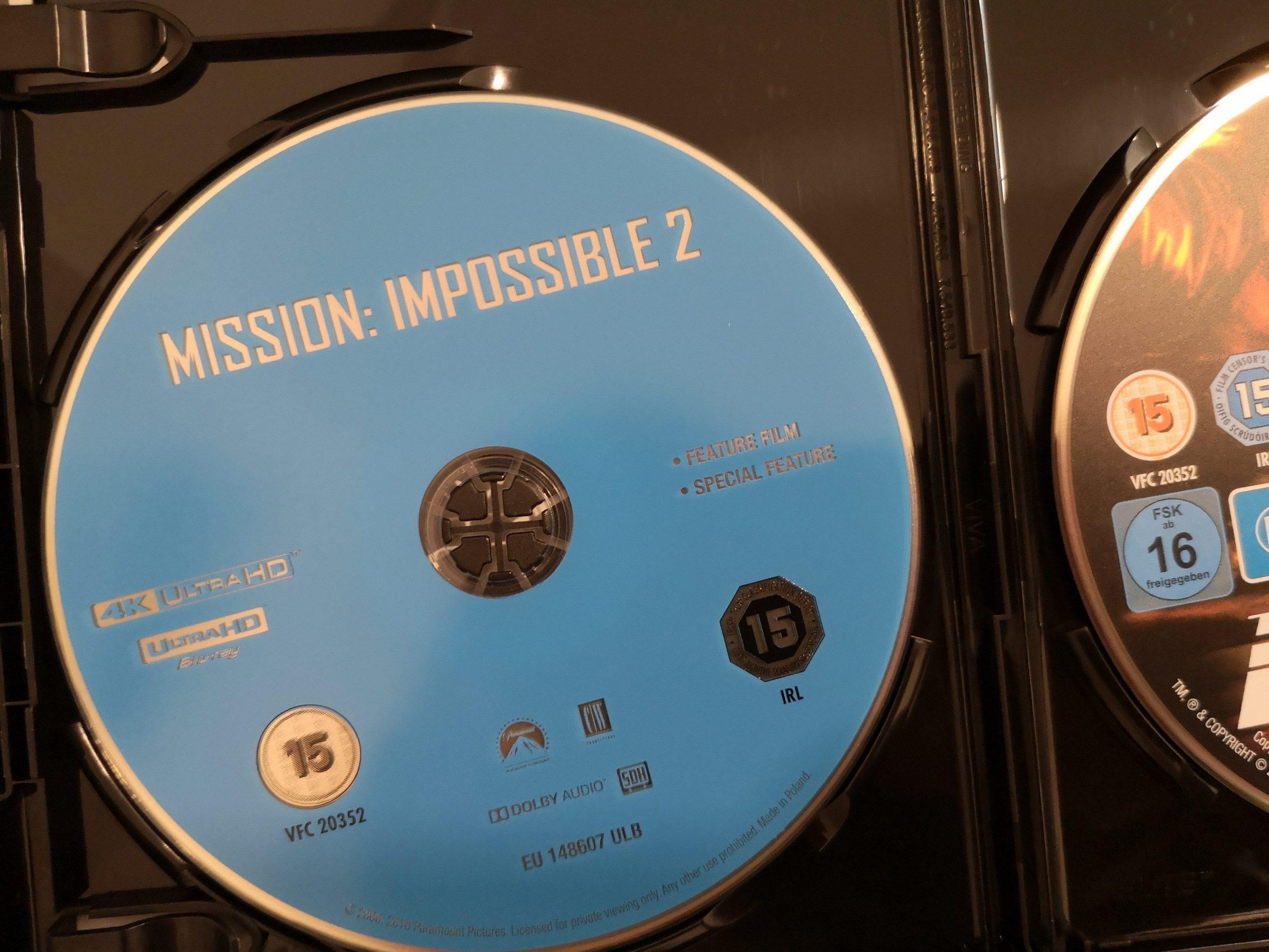 Misión Imposible Disco 4K