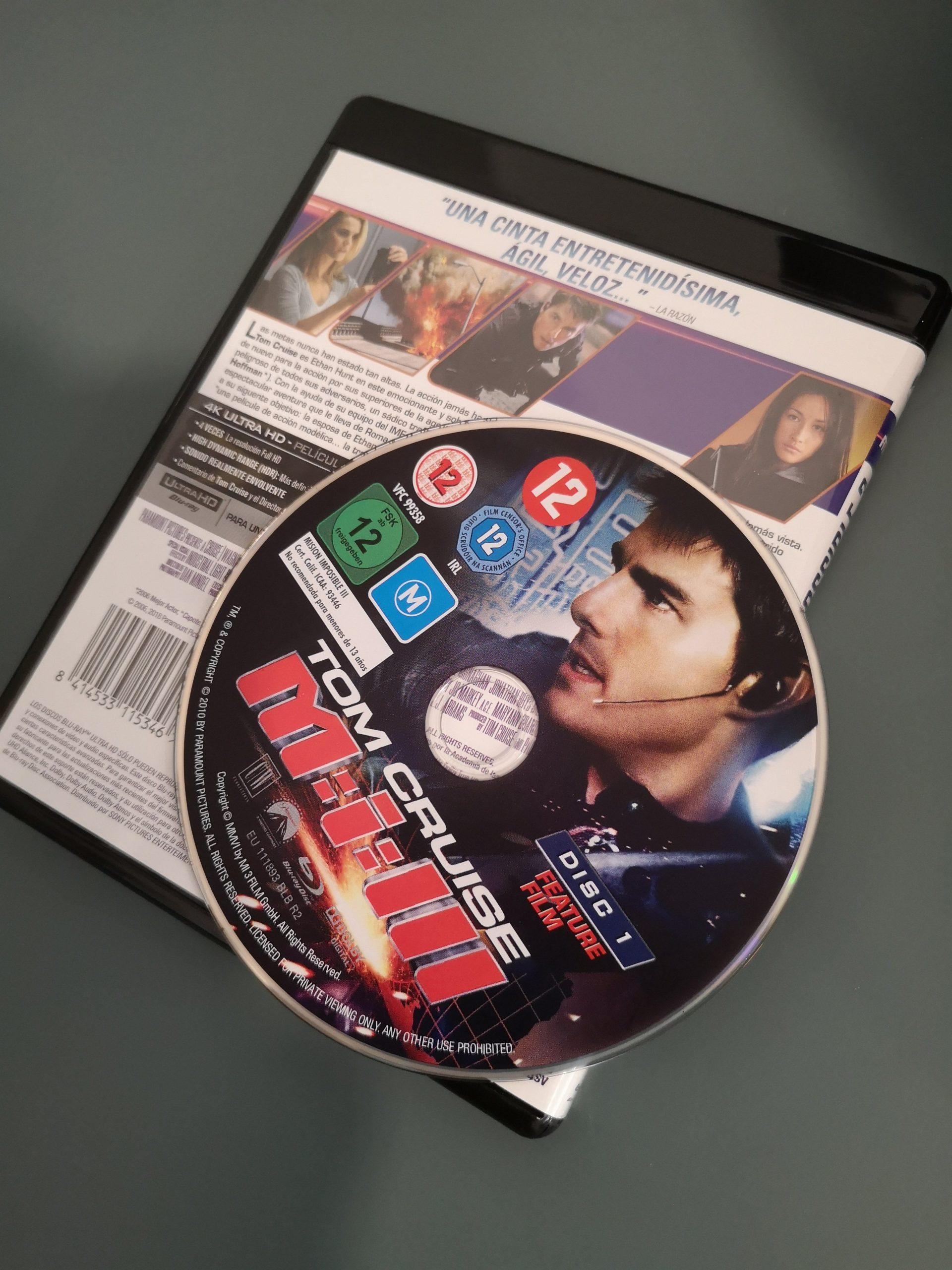 Misión Imposible 3 disco