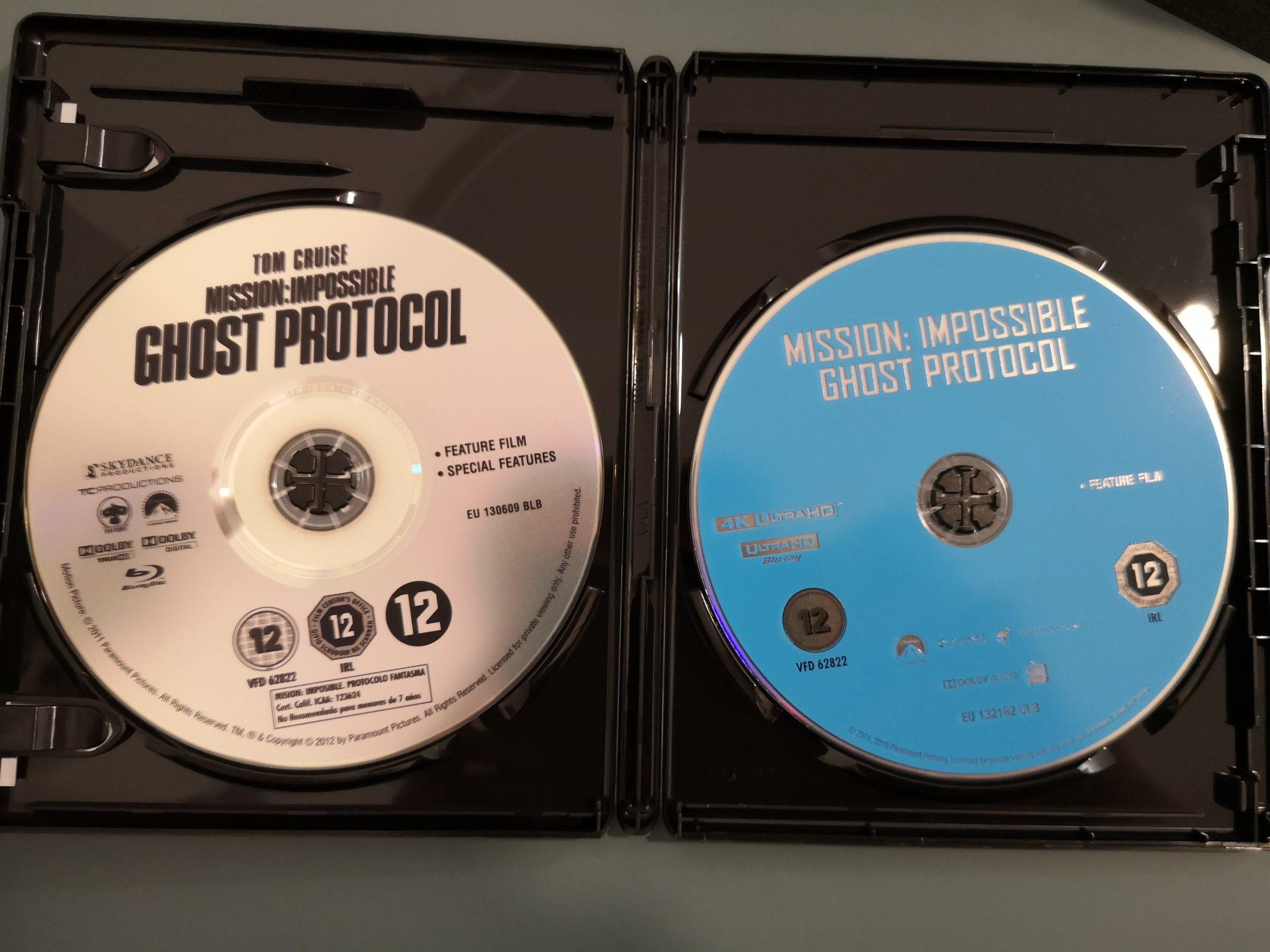 Misión Imposible 4 discos
