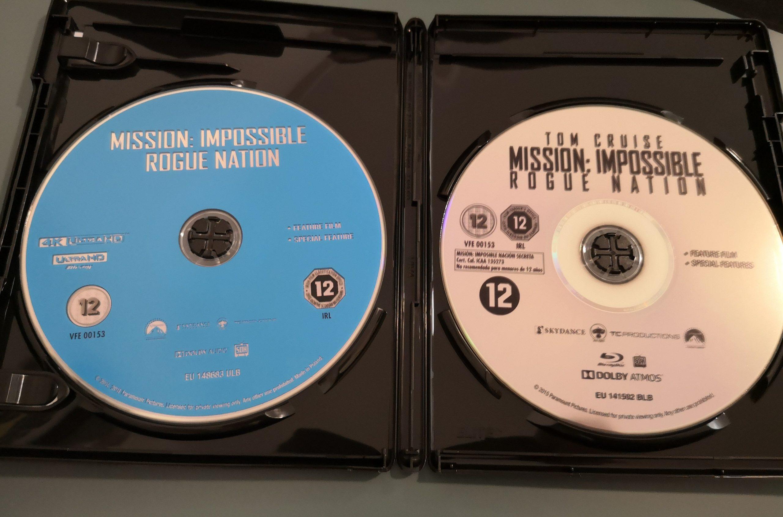 Misión Imposible 5 discos