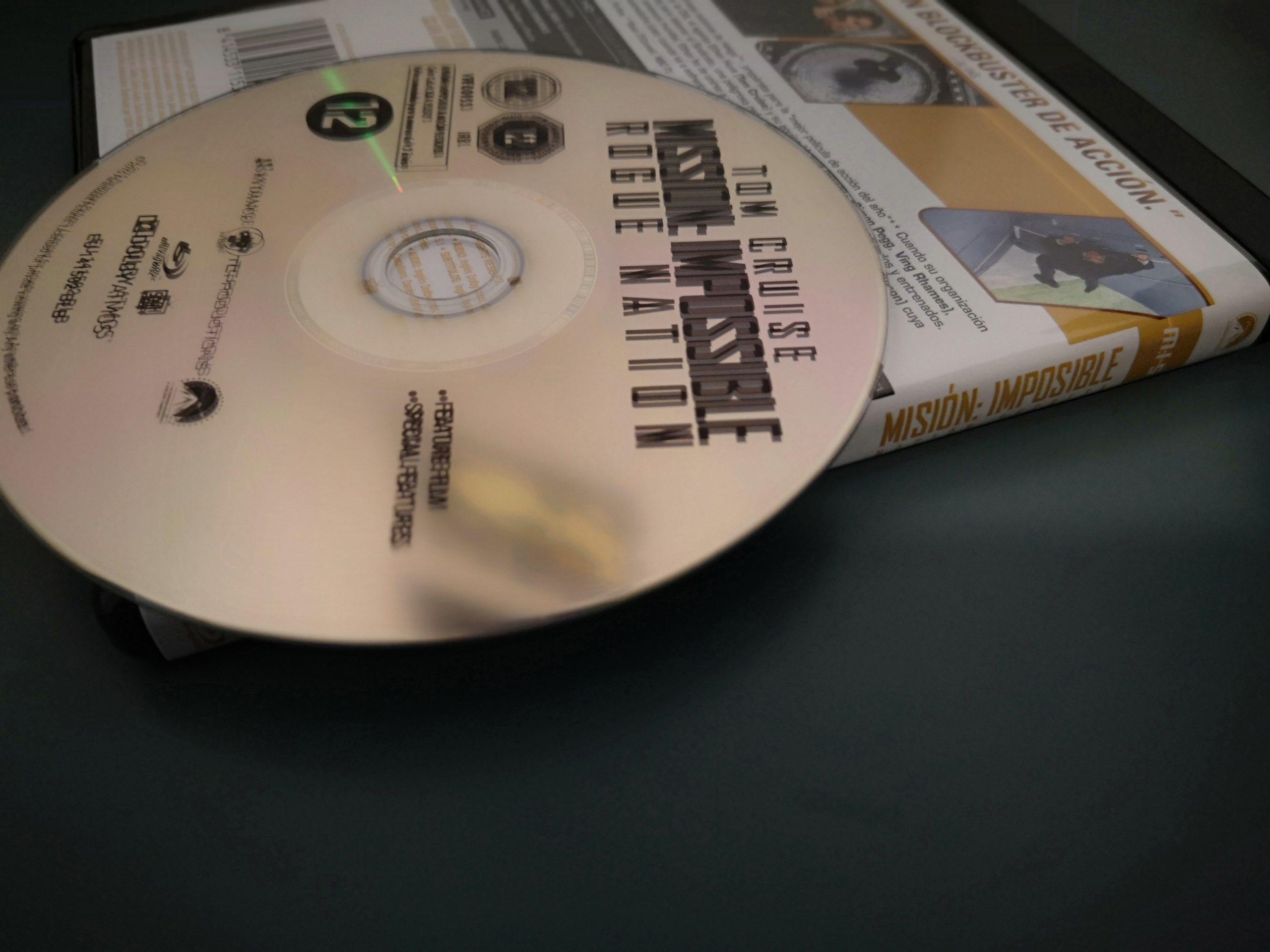 Misión Imposible 5 disco