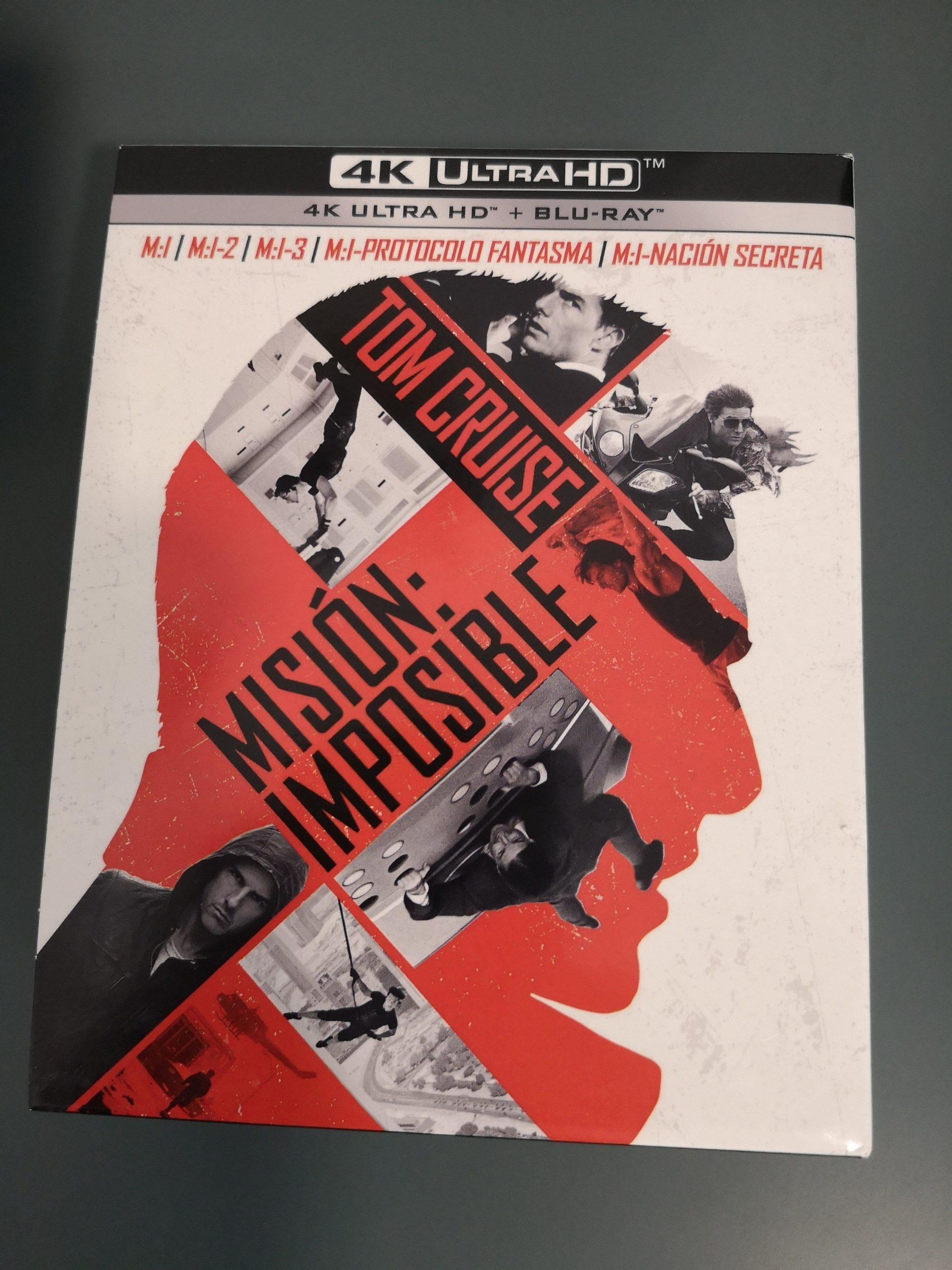Misión Imposible colección 5 películas portada