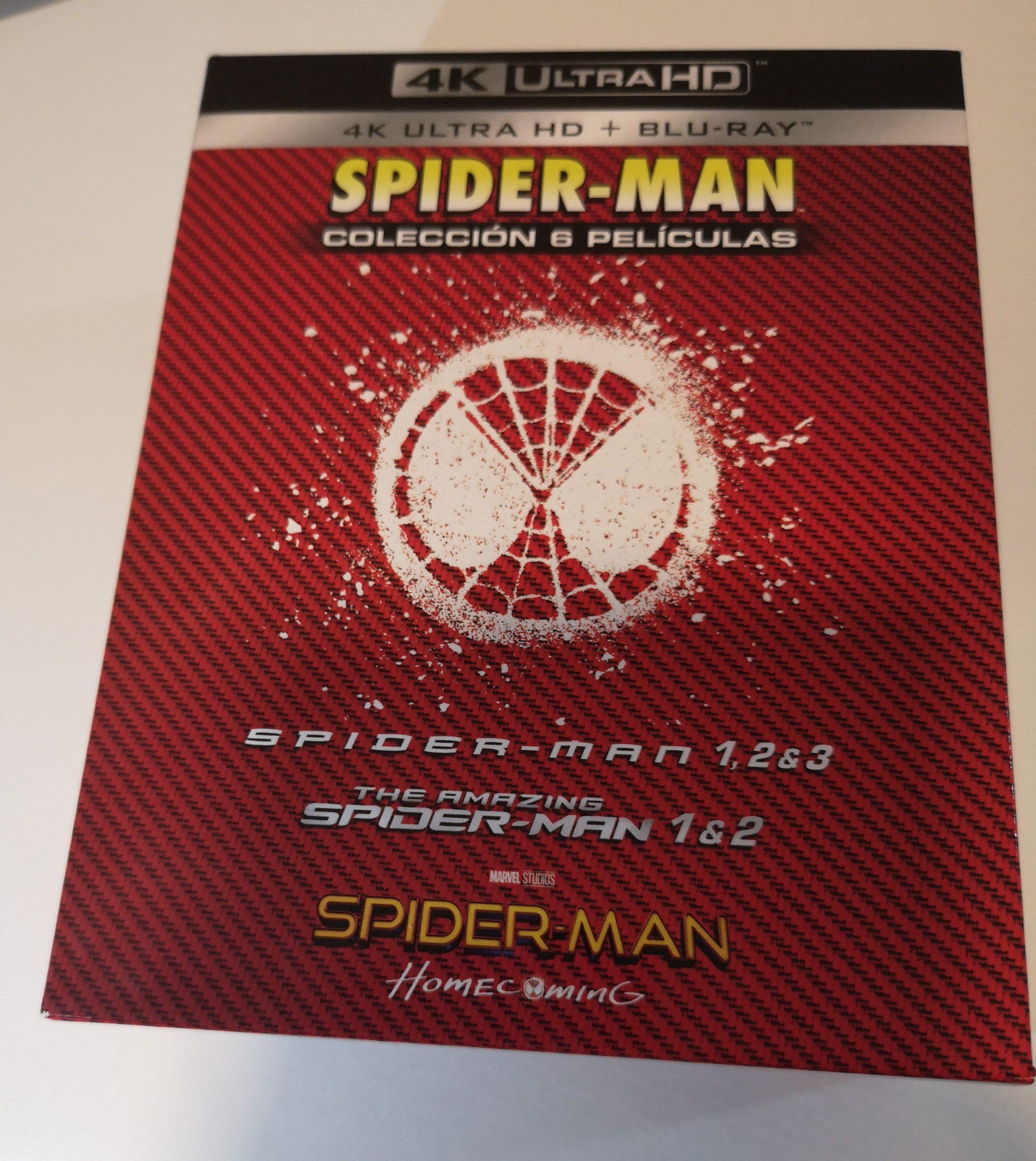 Spider-Man colección 6 películas 01