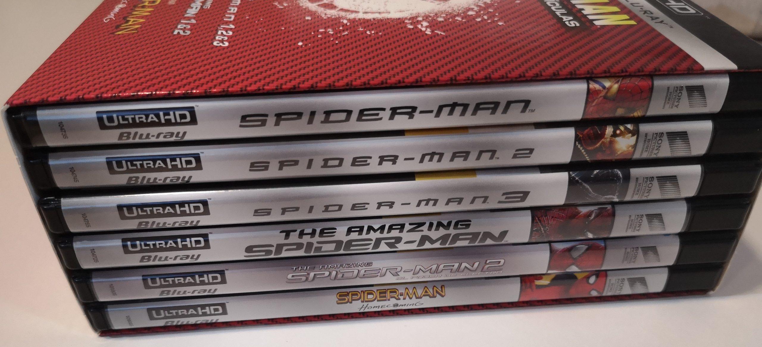 Spider-Man colección 6 películas 02