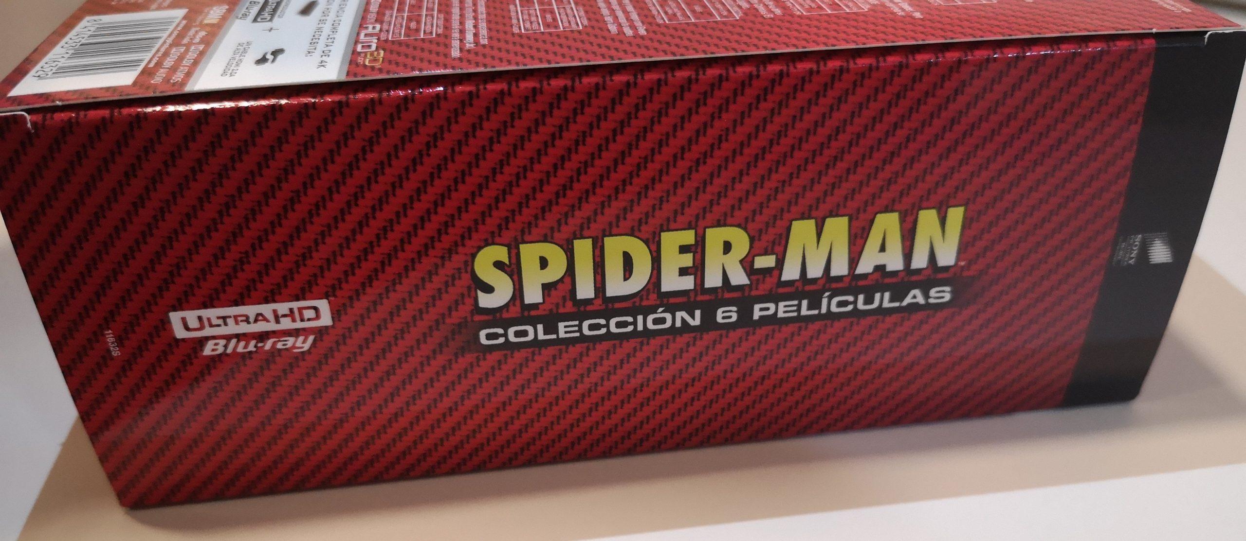 Spider-Man colección 6 películas 03