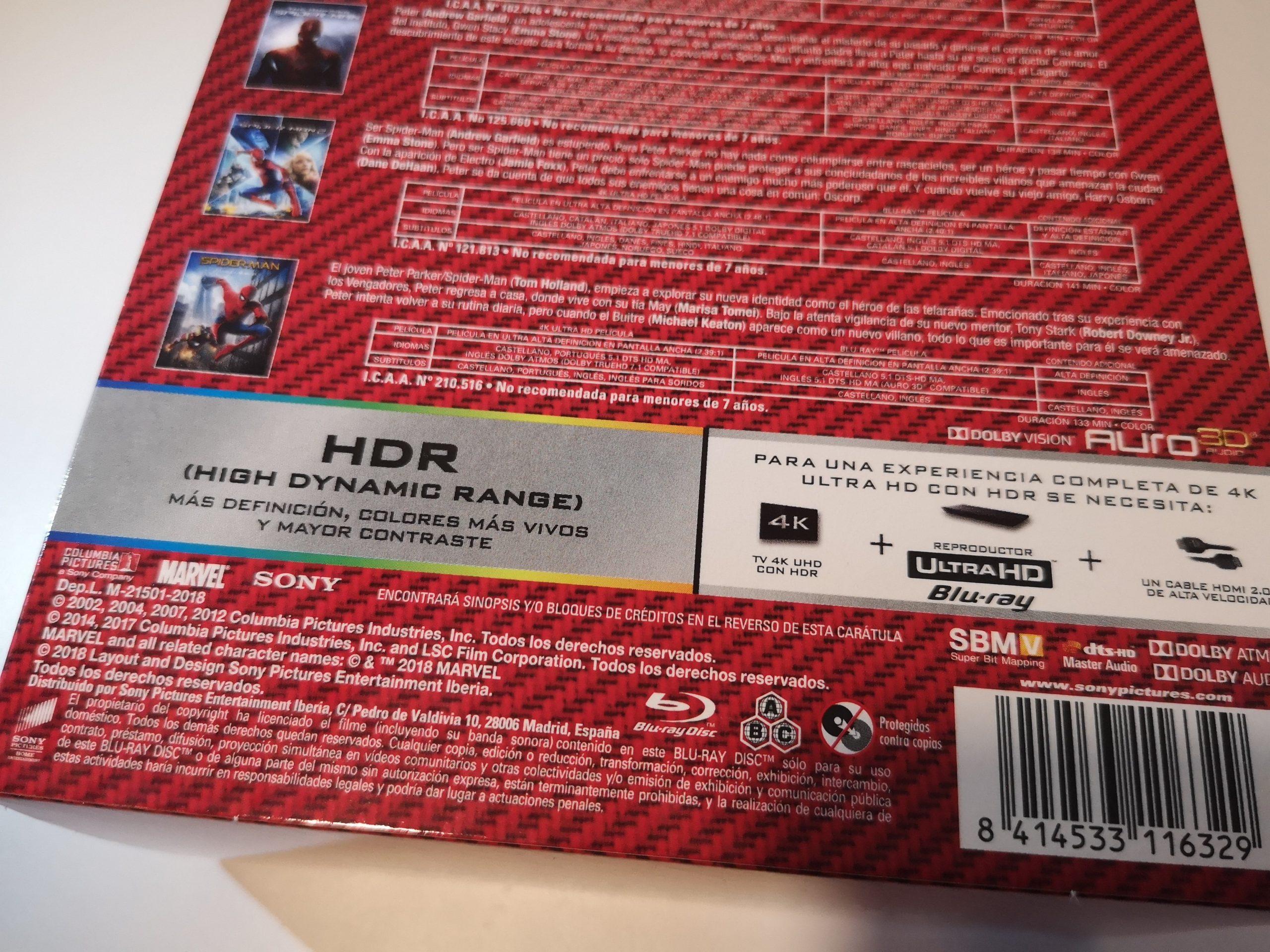 Spider-Man colección 6 películas 08