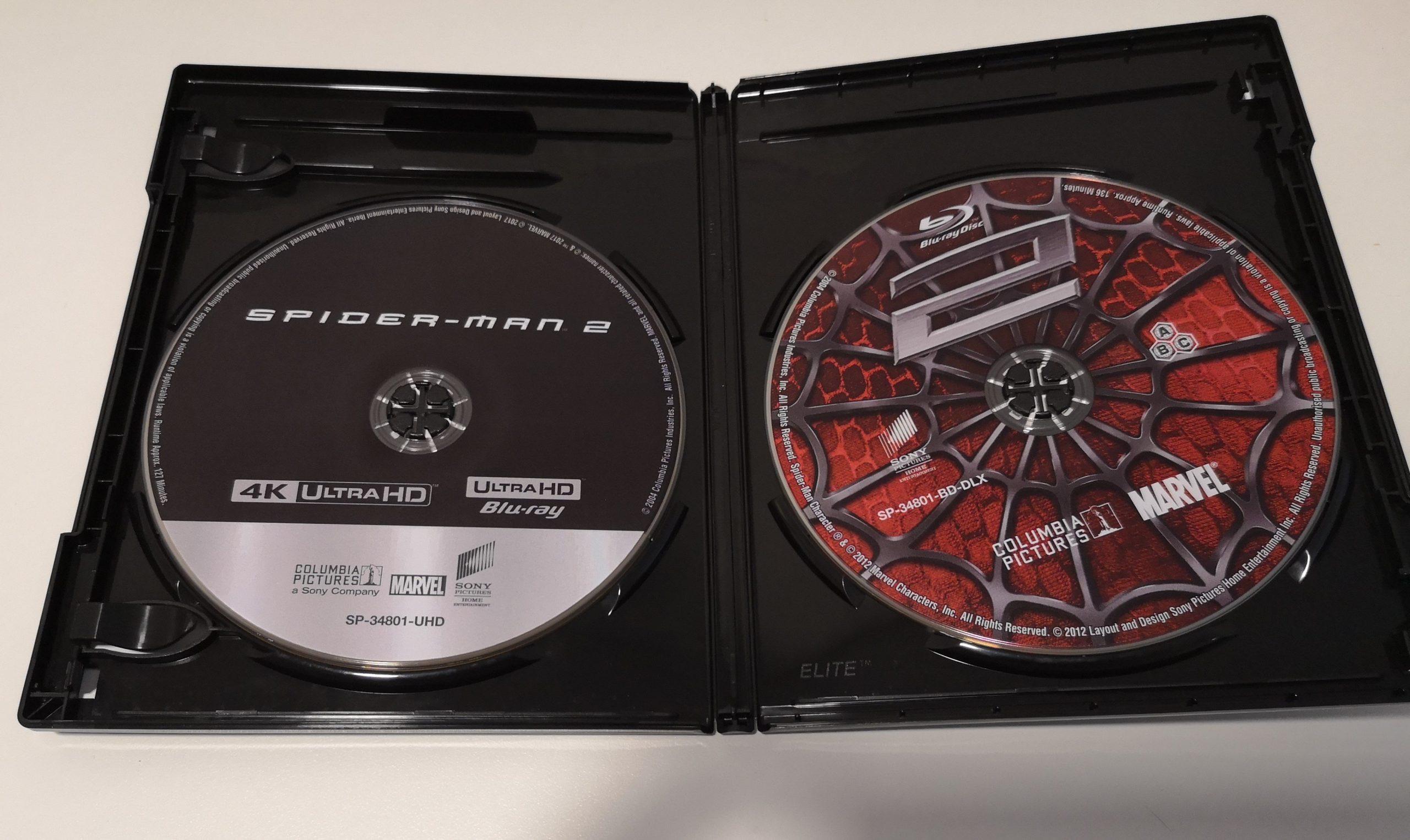 Spider-Man 2 discos