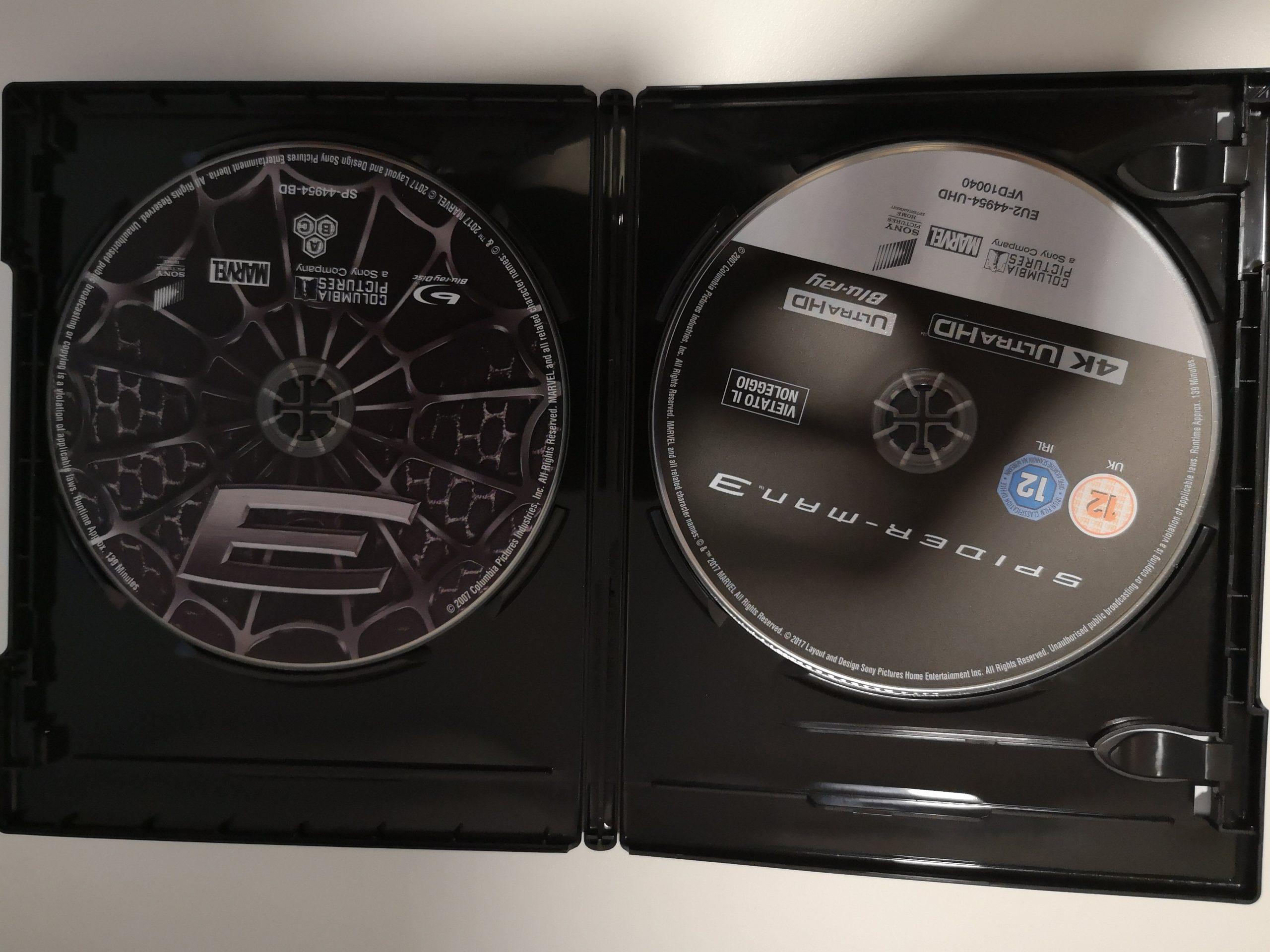 Spider-Man 3 discos