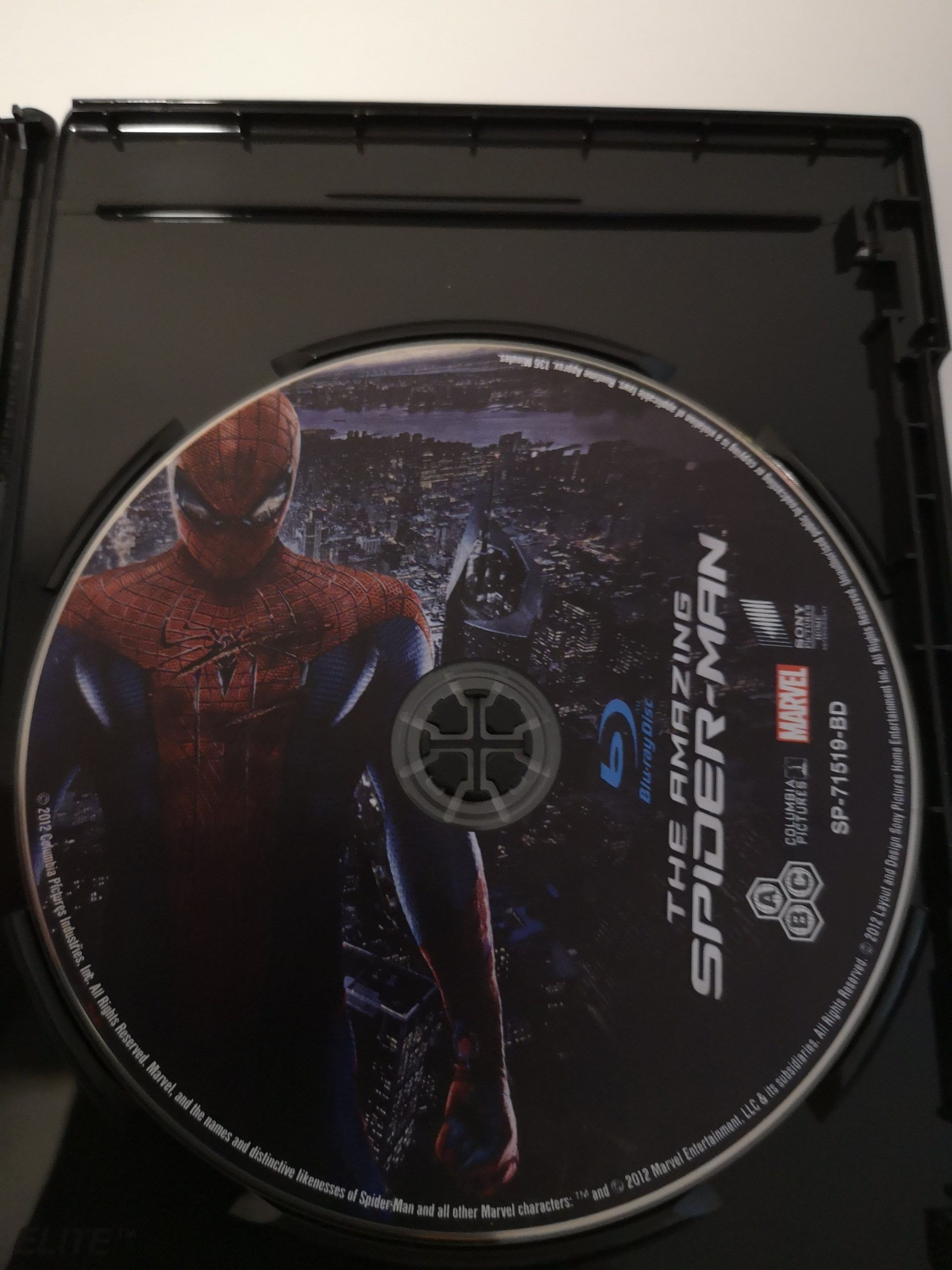 The amazing Spider-Man disco