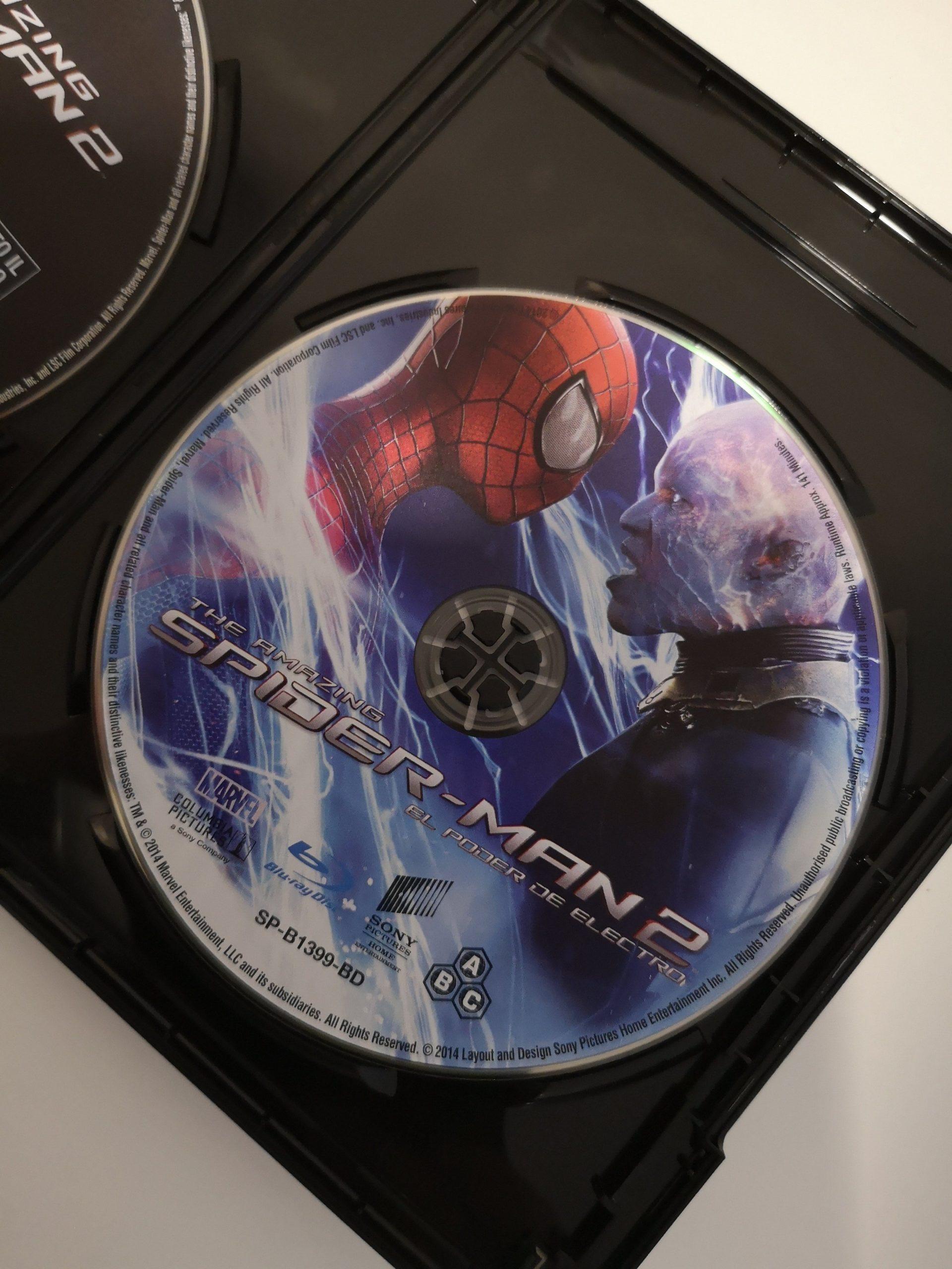 The Amazing Spider-Man 2: El poder de Electro disco