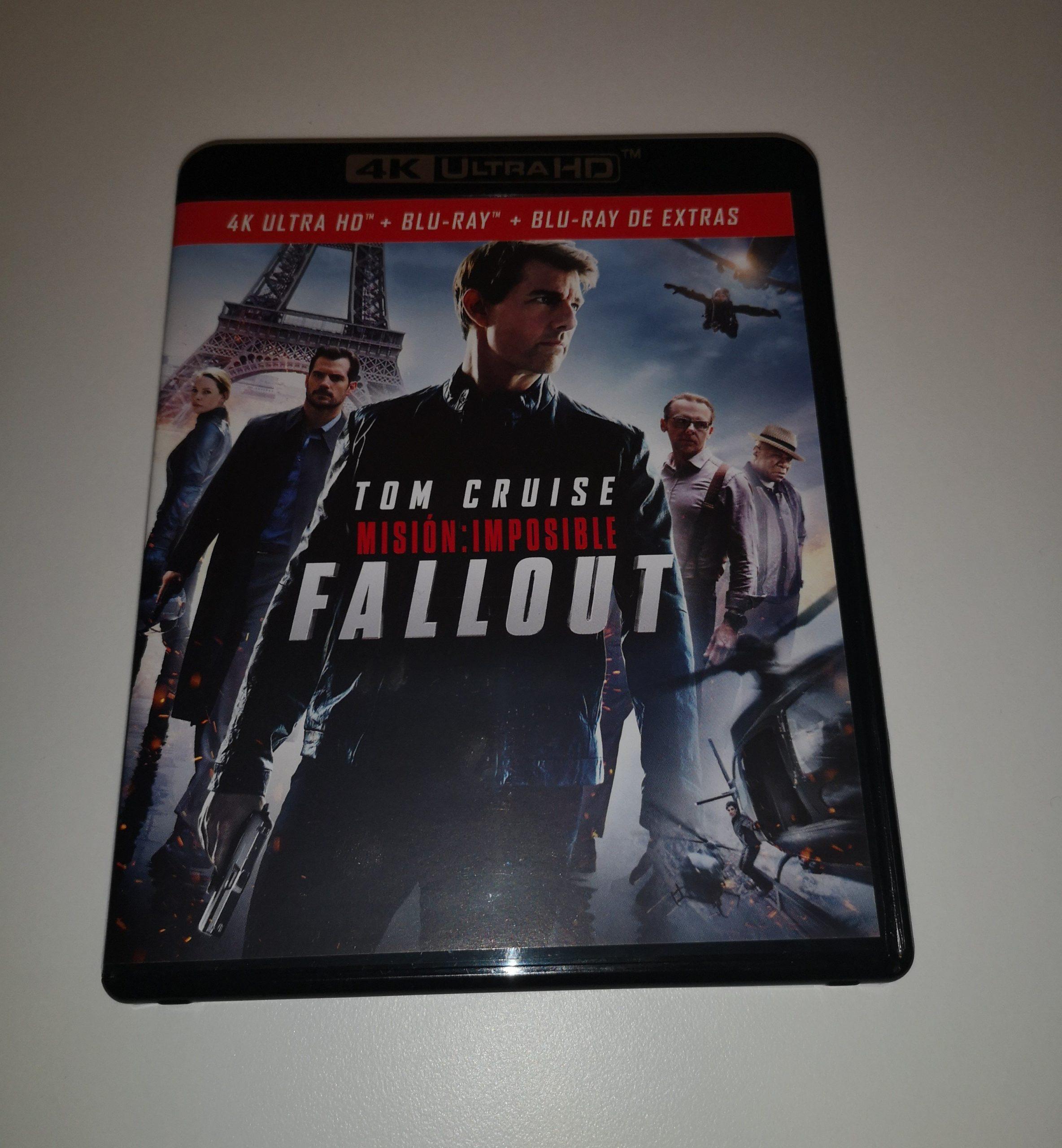"""""""Misión Imposible: Fallout"""" [Blu-ray] [4K UHD] portada"""