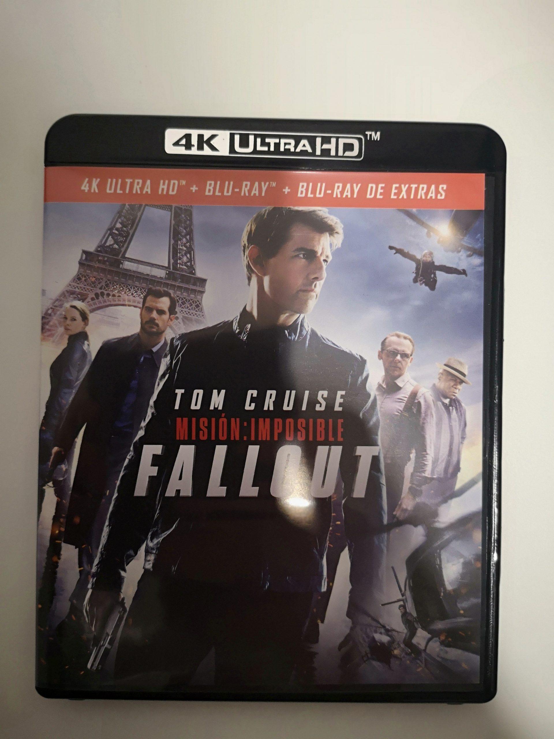 """""""Misión Imposible: Fallout"""" [Blu-ray] [4K UHD] portada 02"""