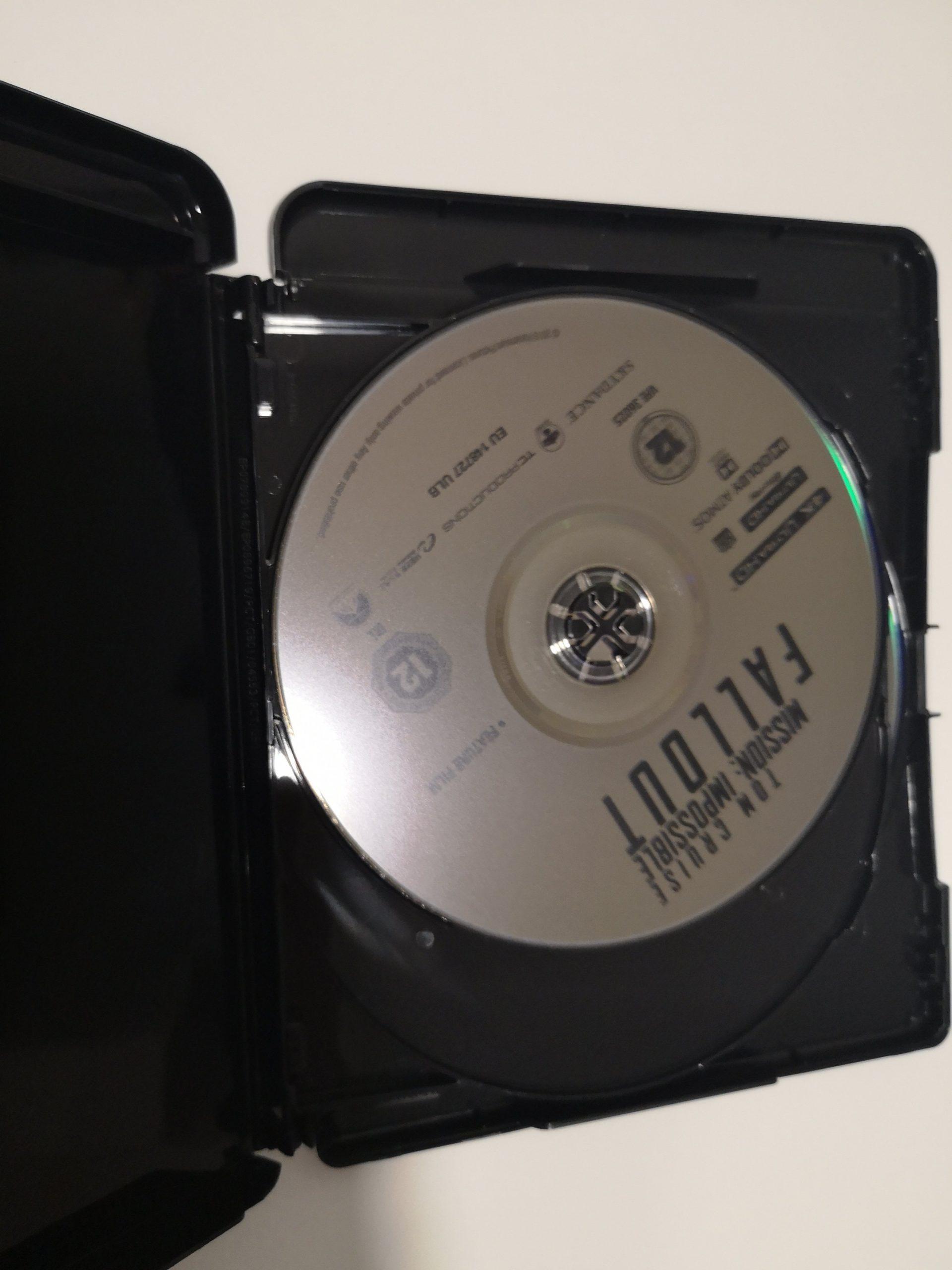 """""""Misión Imposible: Fallout"""" [Blu-ray] [4K UHD] disco"""