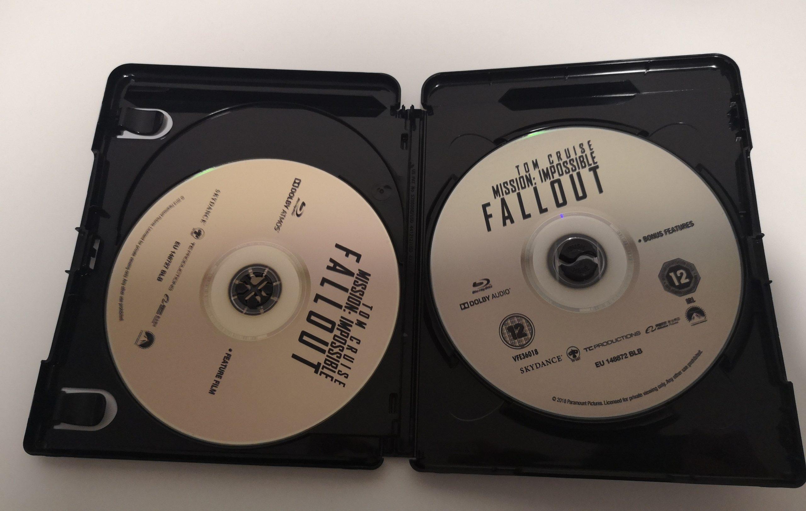 """""""Misión Imposible: Fallout"""" [Blu-ray] [4K UHD] discos 02"""