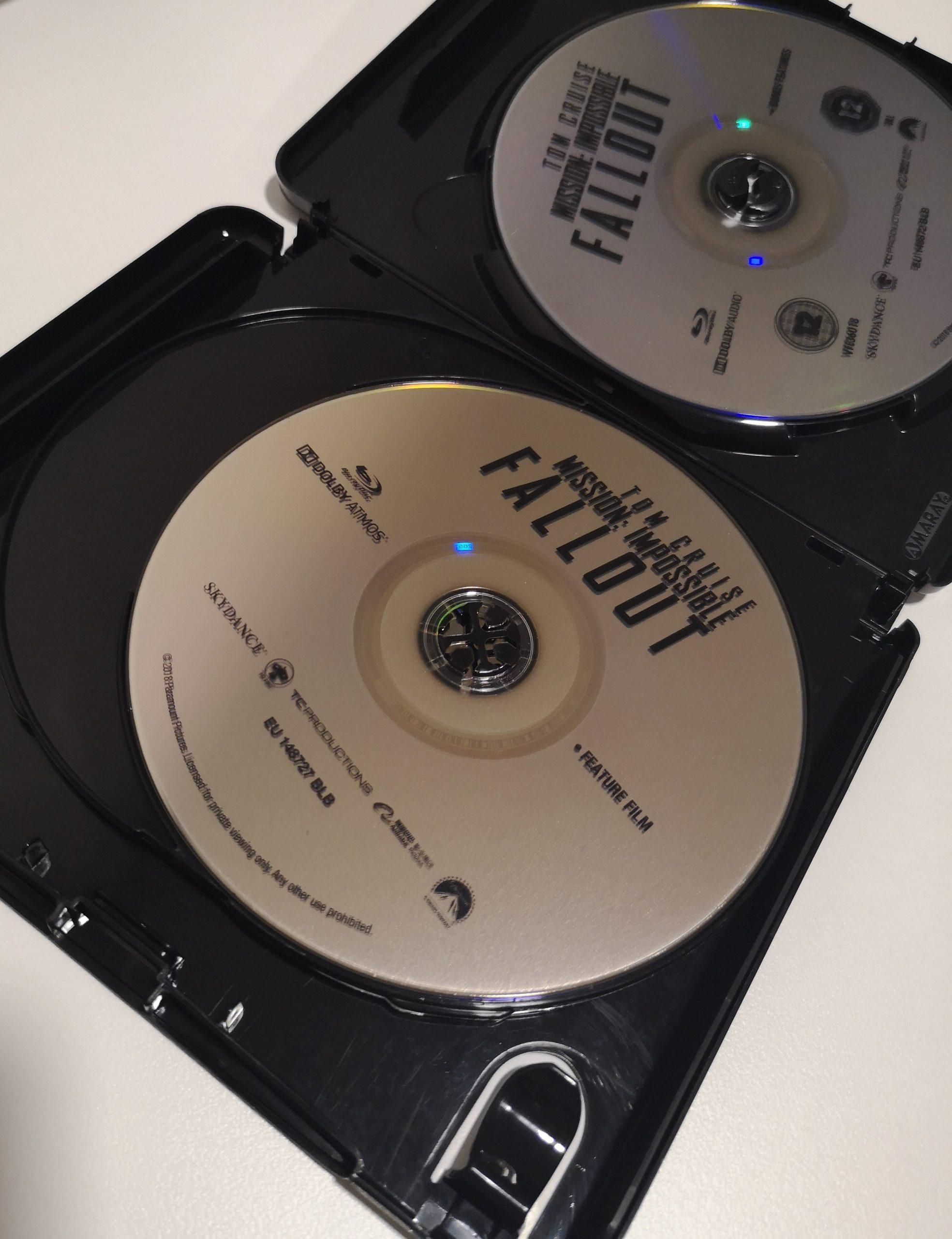 """""""Misión Imposible: Fallout"""" [Blu-ray] [4K UHD] discos 03"""