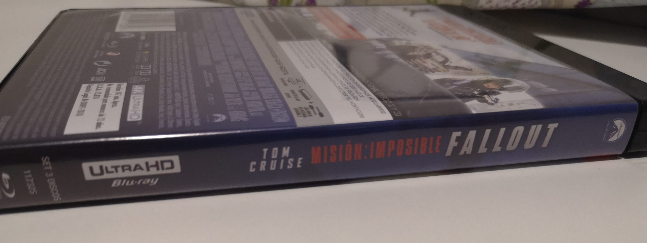 """""""Misión Imposible: Fallout"""" [Blu-ray] [4K UHD] caja"""