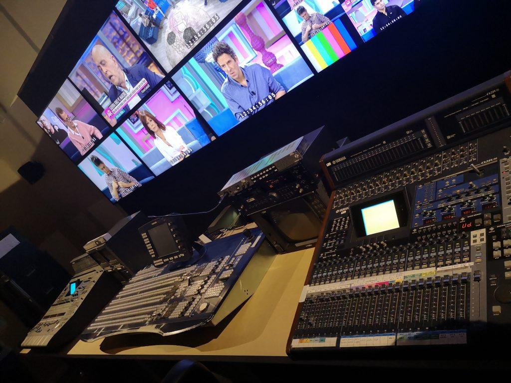 Sala de control Telecinco Live