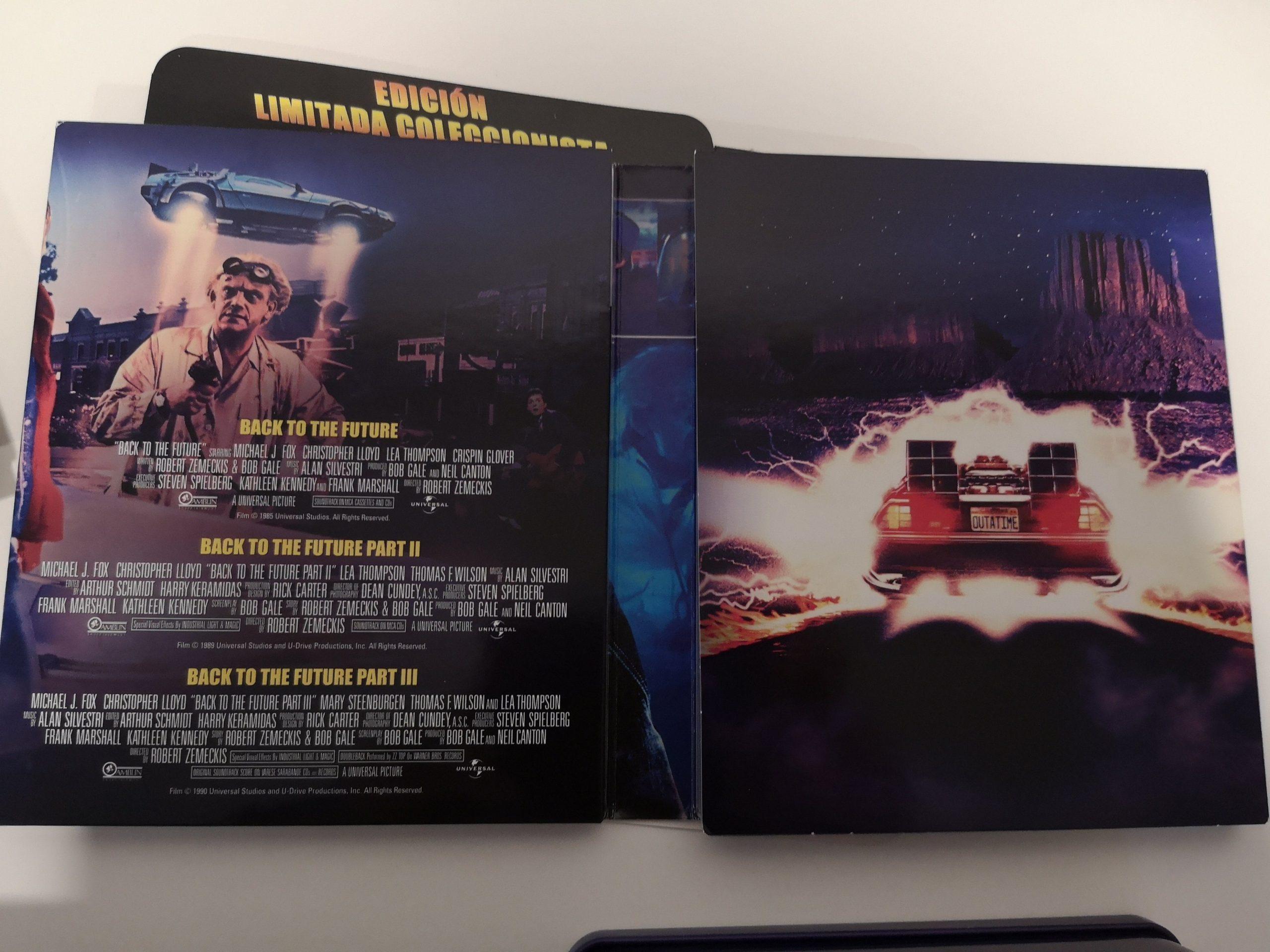 REGRESO AL FUTURO 1-3 Edición limitada caja