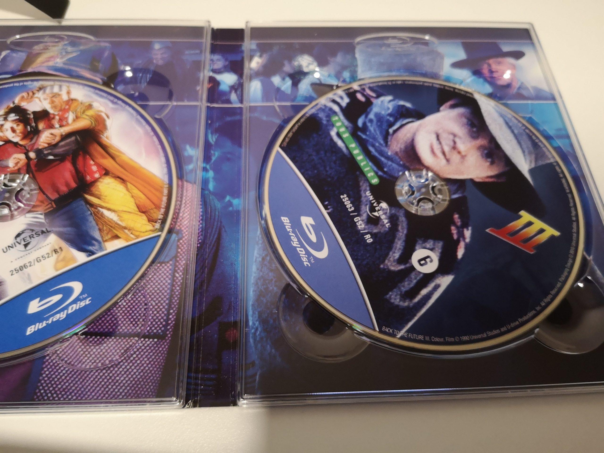 REGRESO AL FUTURO 1-3 Edición limitada discos