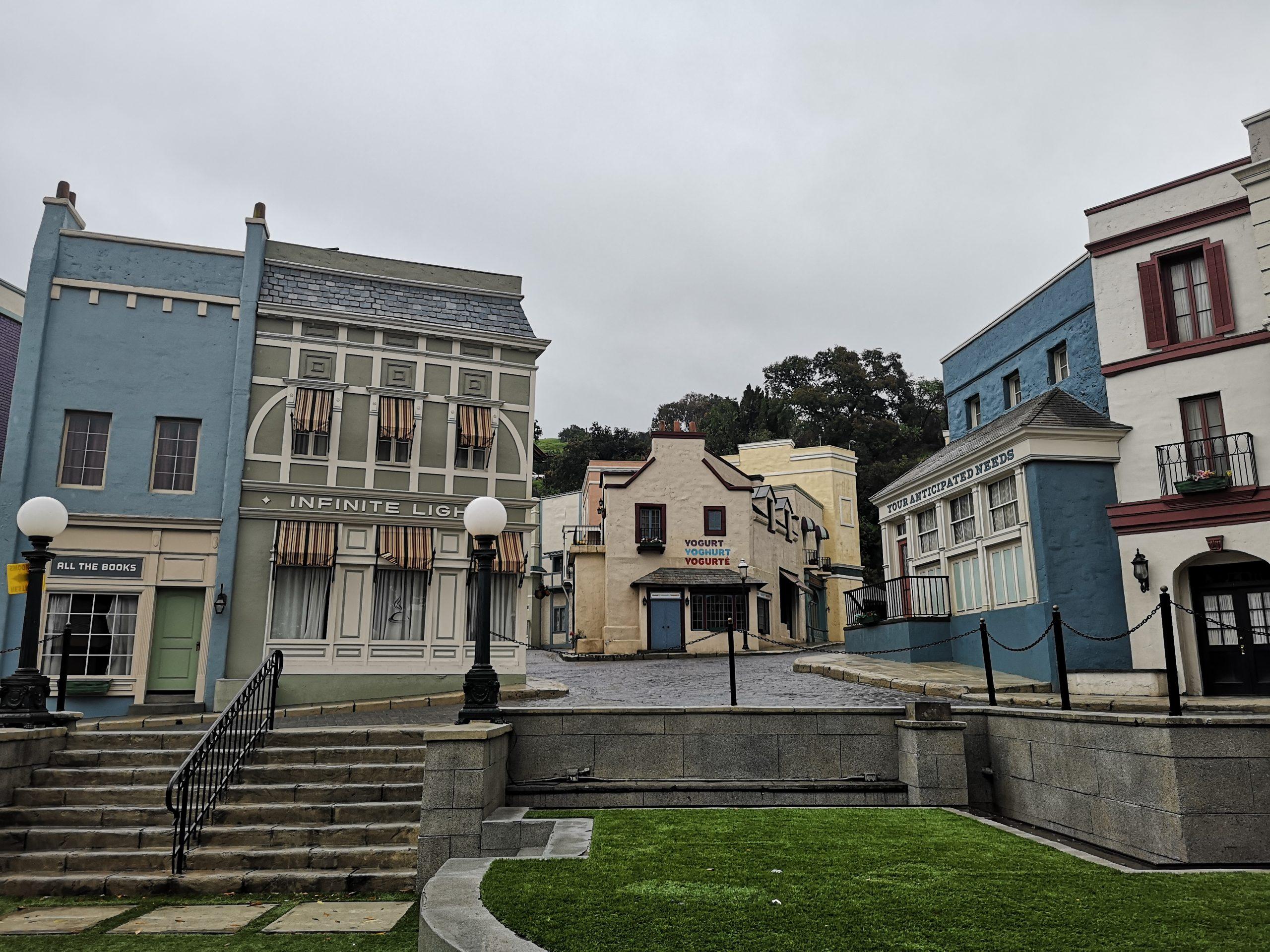 Universal Studios Hollywood backlot