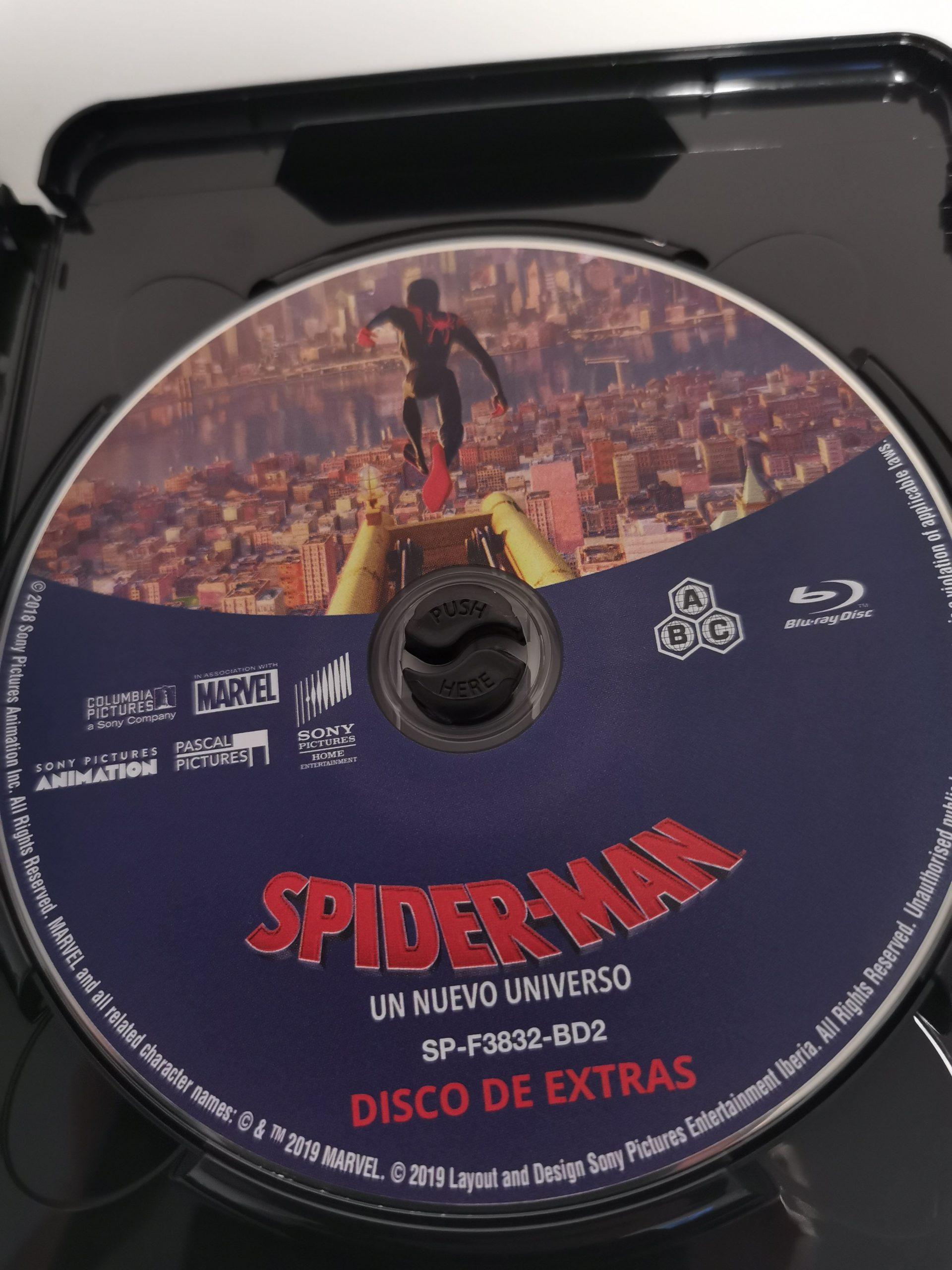 Spider-Man Un nuevo universo extras