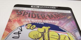 Spider-Man Un nuevo universo disco 4K