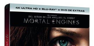 MORTAL ENGINES (4K UHD + BD + DVD EXTRAS) (ED ESPECIAL METAL) - EXCLUSIVA AMAZON - VTA - 8414533121736