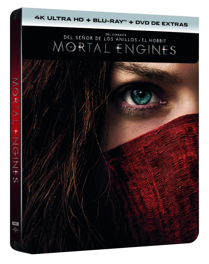 MORTAL ENGINES (4K UHD + BD + DVD EXTRAS) (ED ESPECIAL METAL) - EXCLUSIVA AMAZON - VTA - 8414533121736