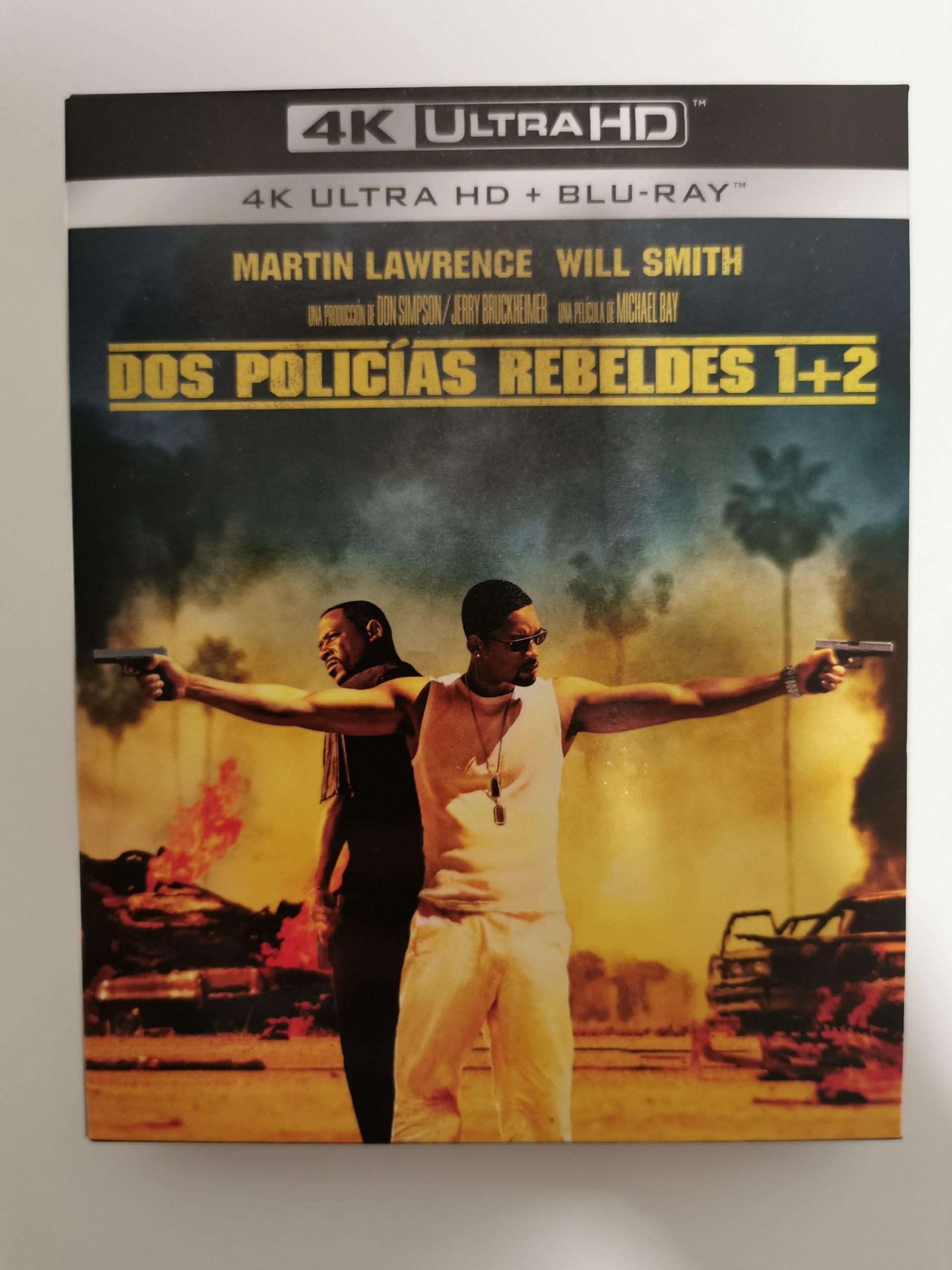 Dos policías rebeldes 1+2 portada