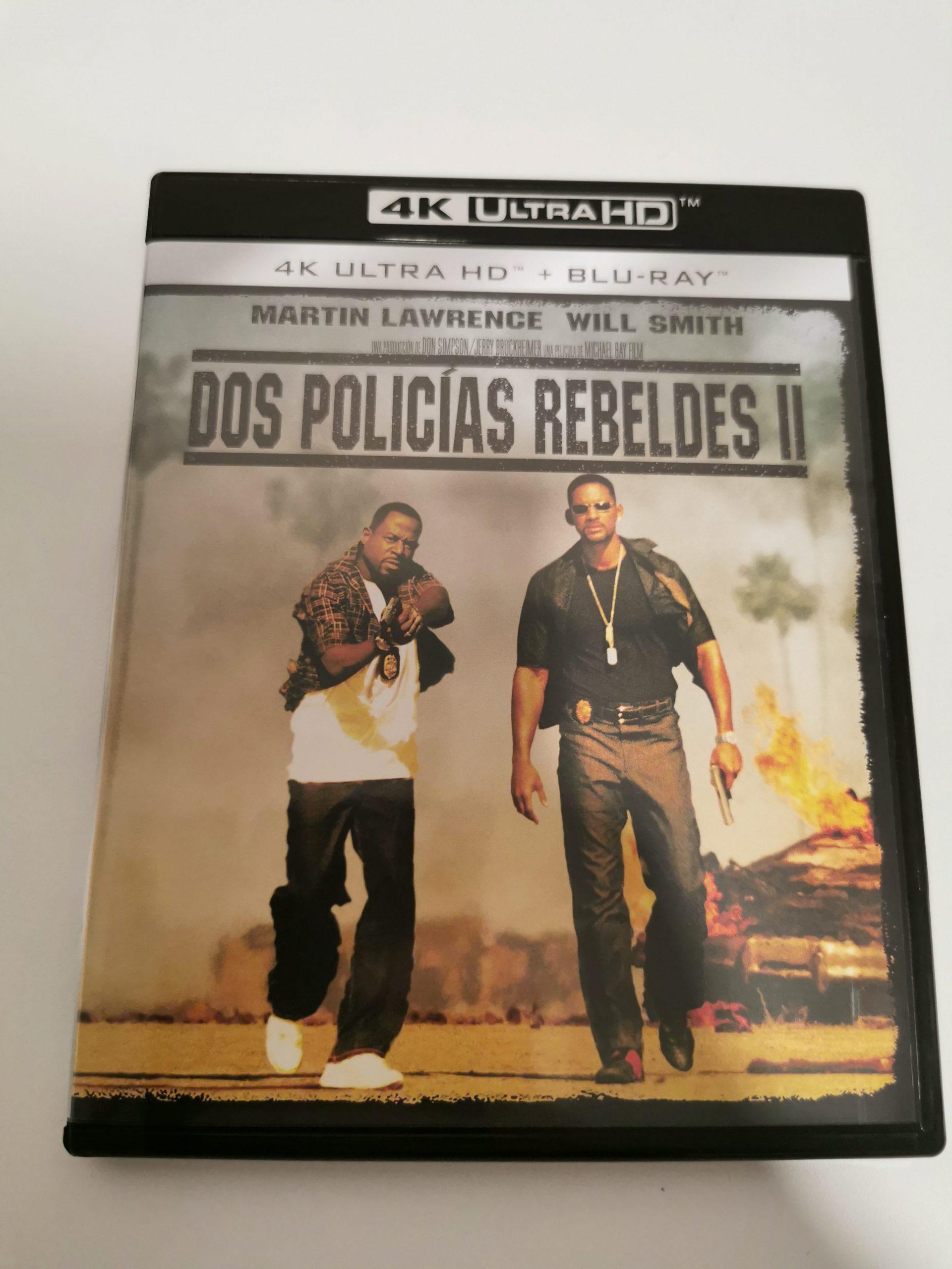 Dos policías rebeldes II portada