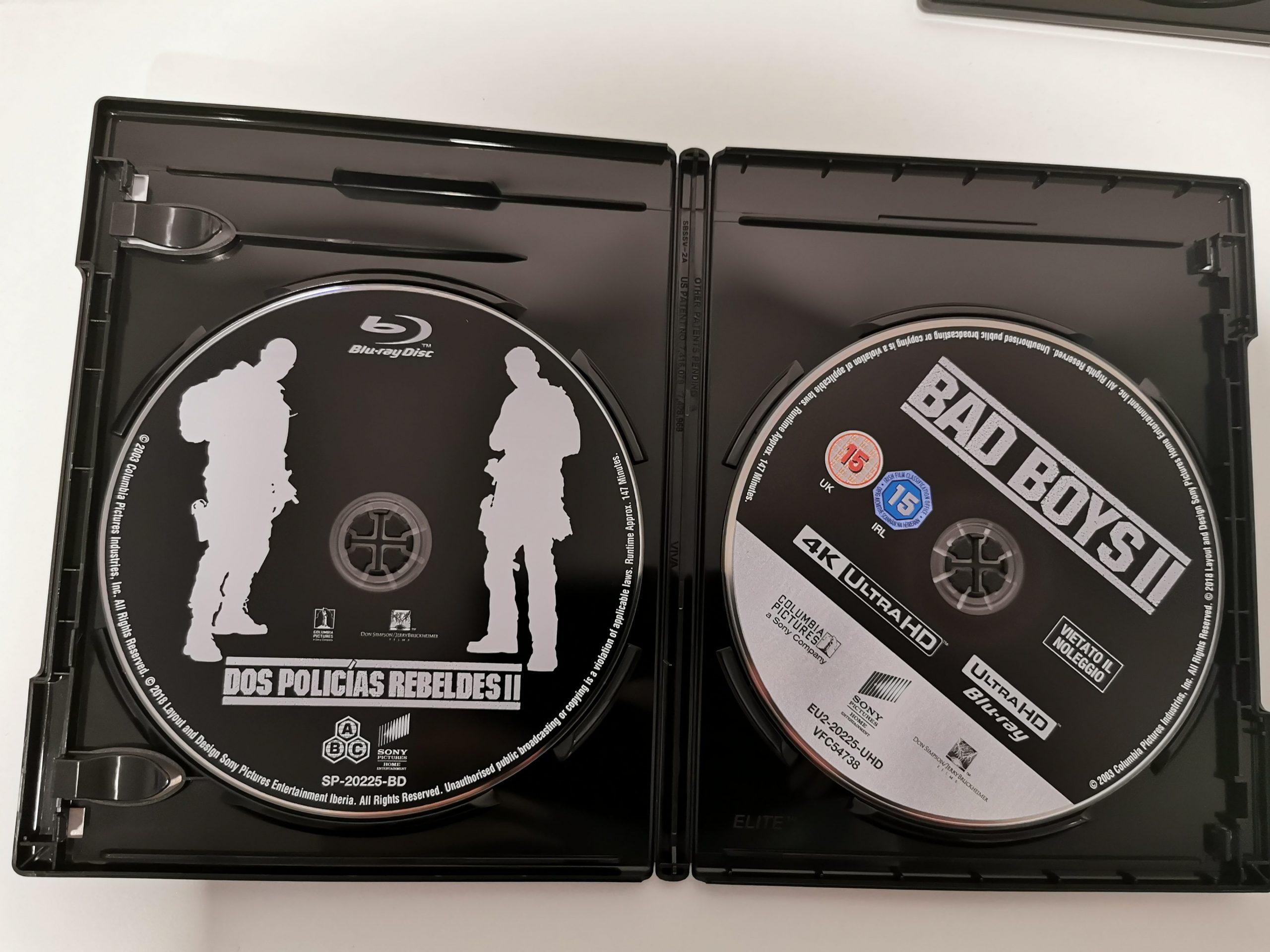 Dos policías rebeldes discos