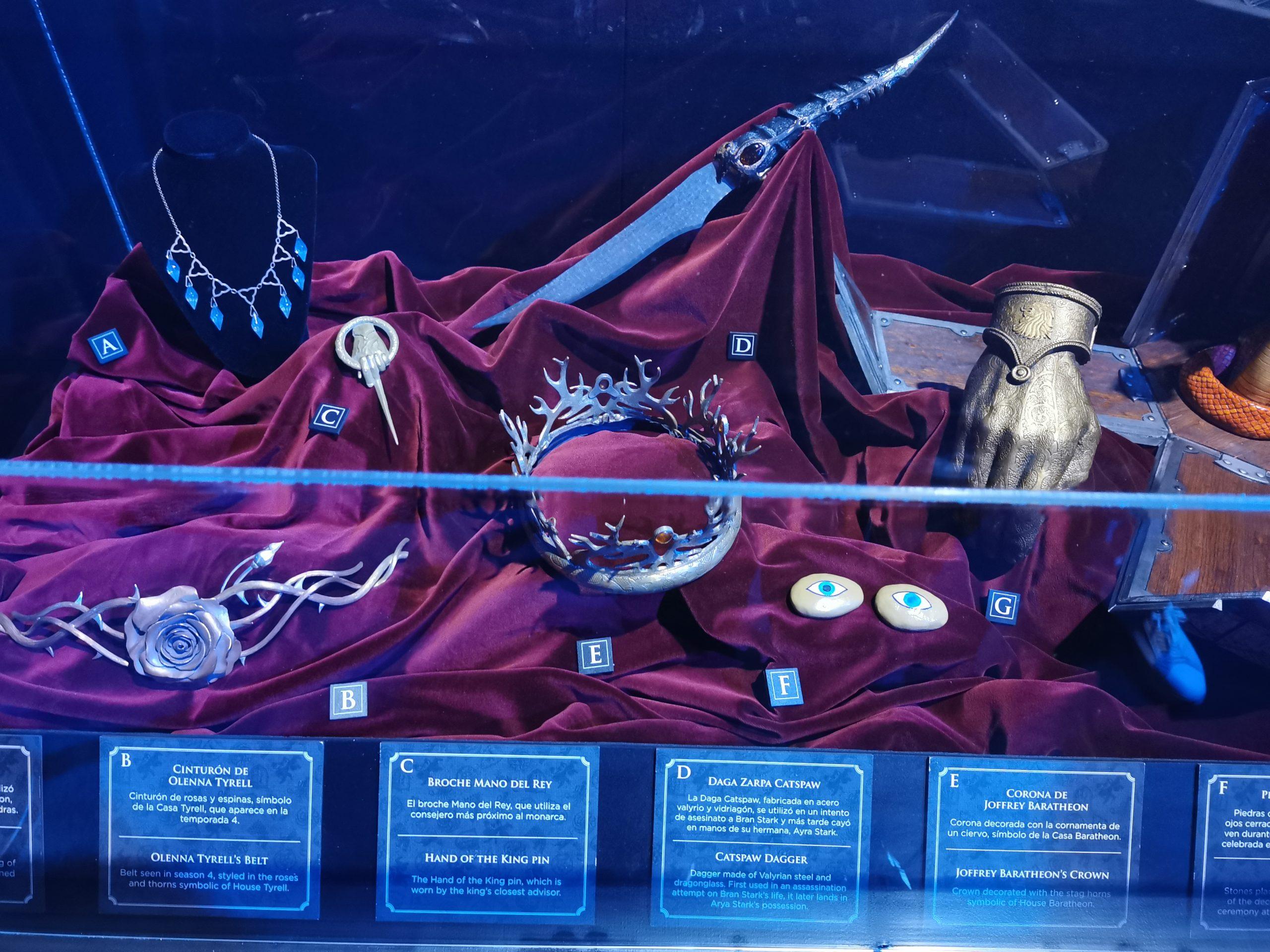 Juego de Tronos exposición oficial exposición 18