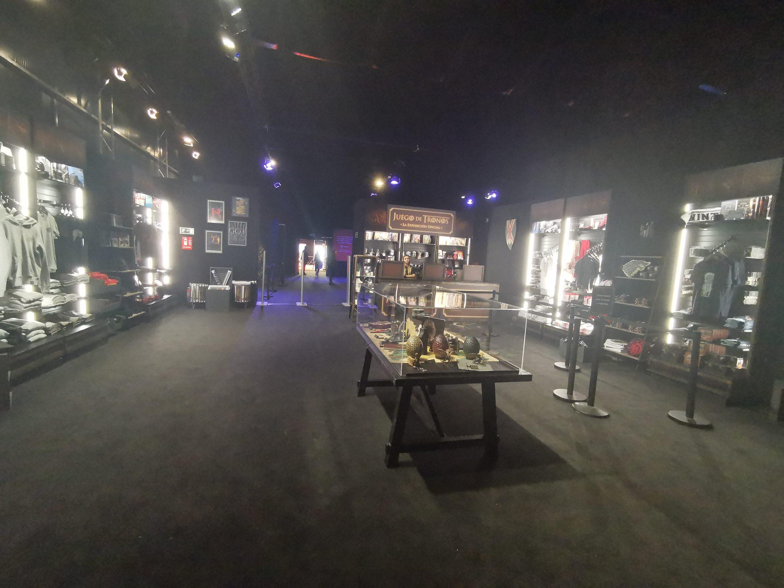 Juego de Tronos exposición oficial tienda 04