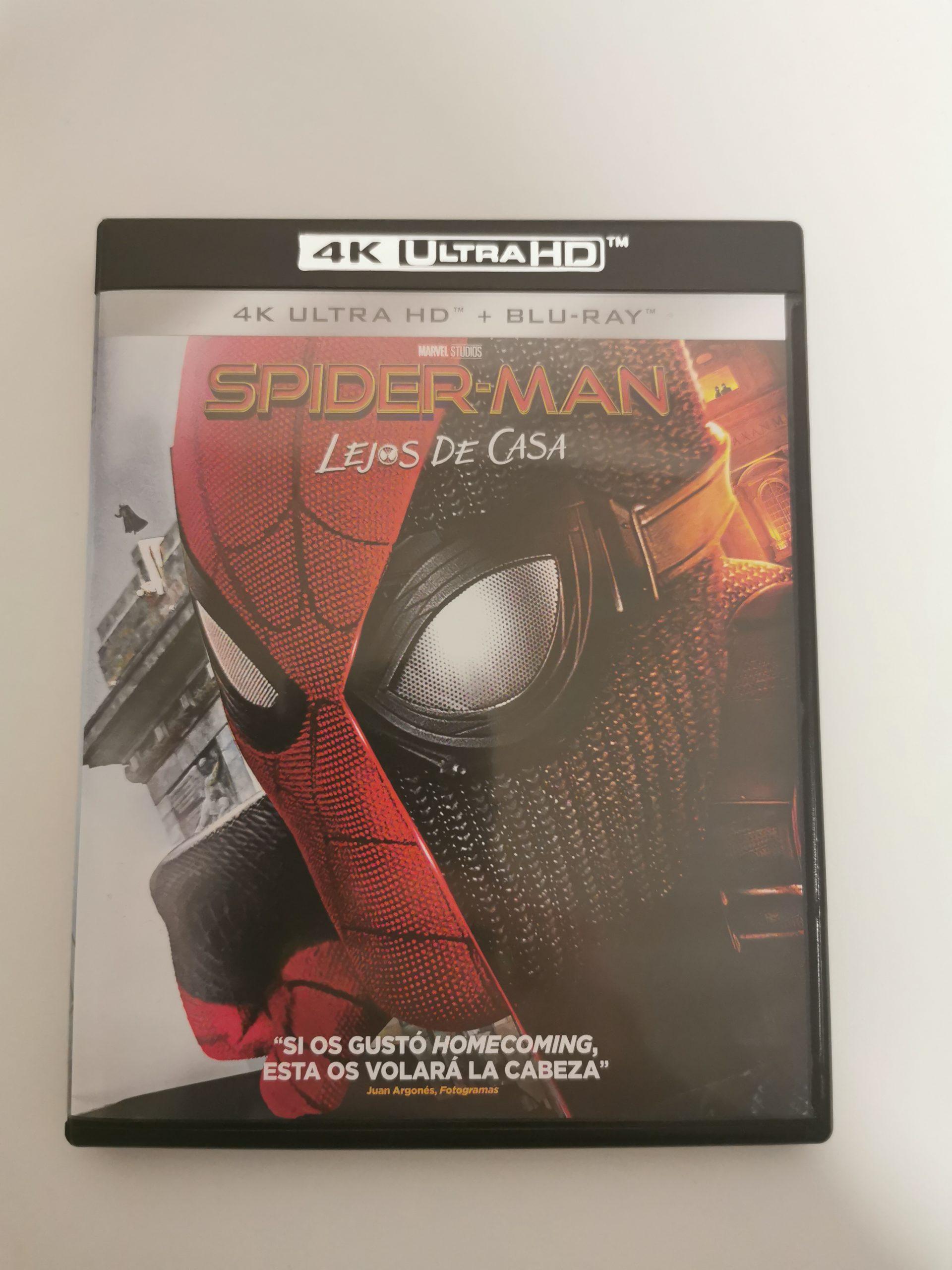 SPIDER-MAN: LEJOS DE CASA 4K 01
