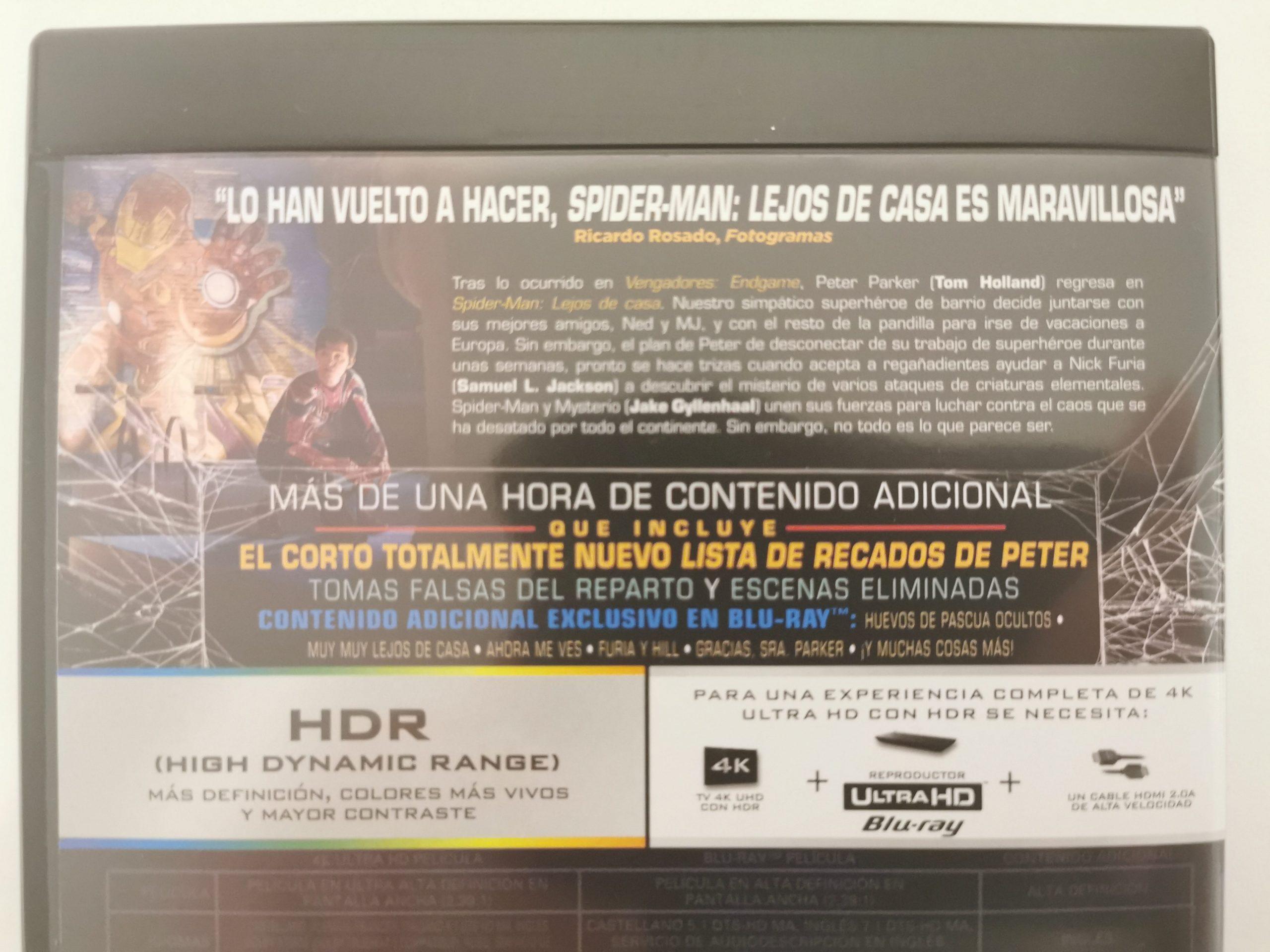 SPIDER-MAN: LEJOS DE CASA 4K 04