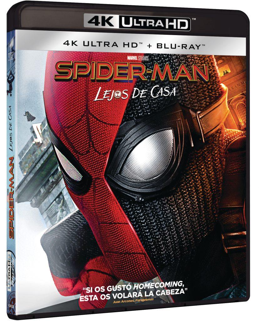 SPIDER-MAN LEJOS DE CASA (4K UHD + BD)