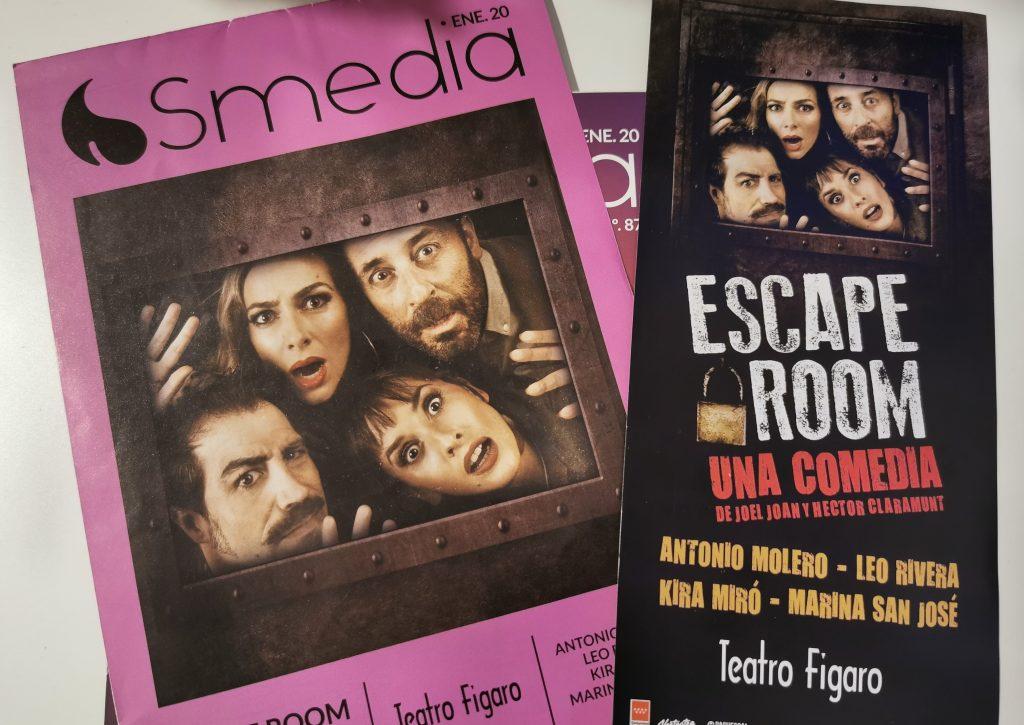 Escape room folletos