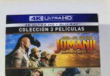 Jumanji colección de 3 películas 01