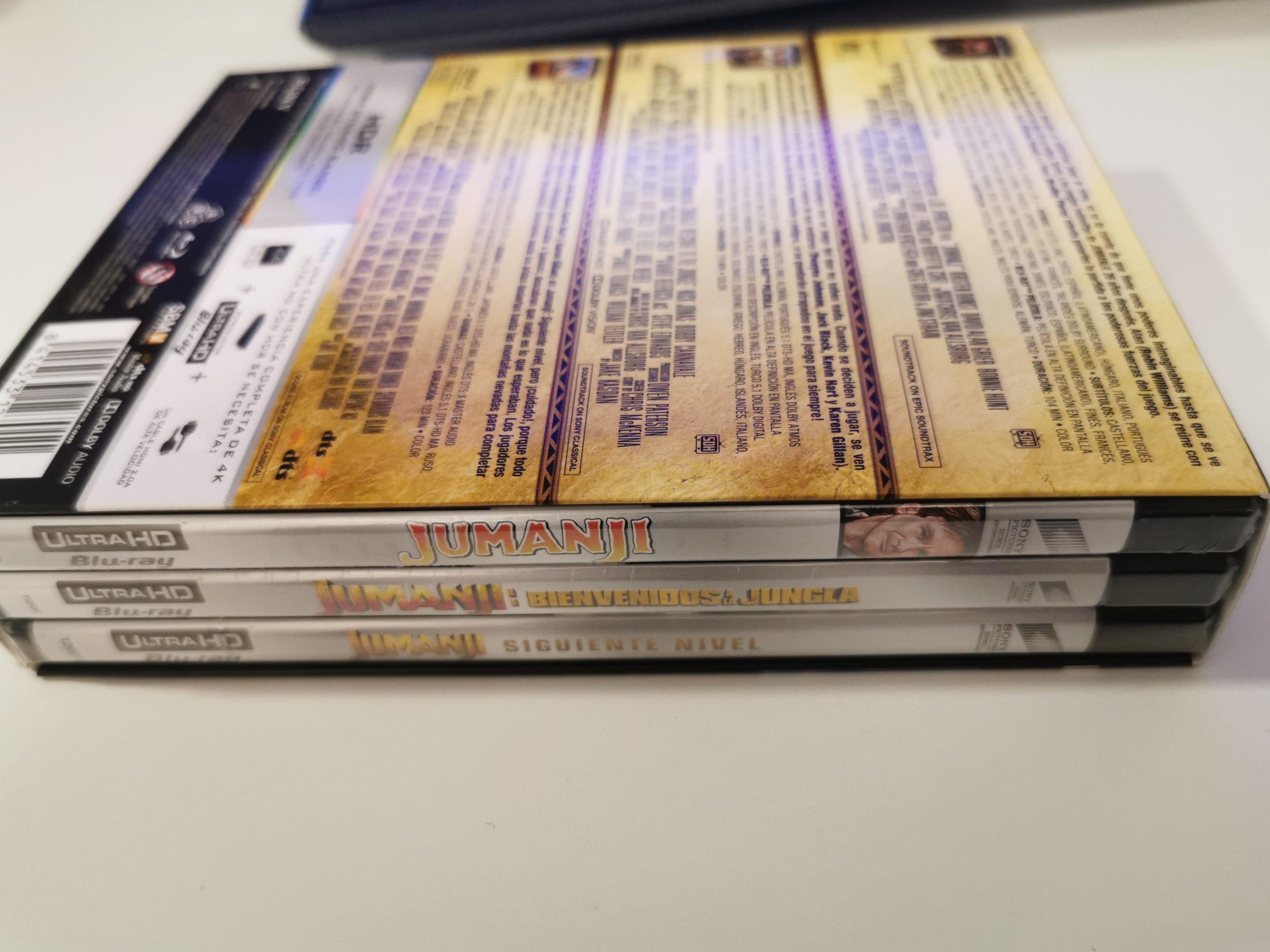 Jumanji colección de 3 películas 03