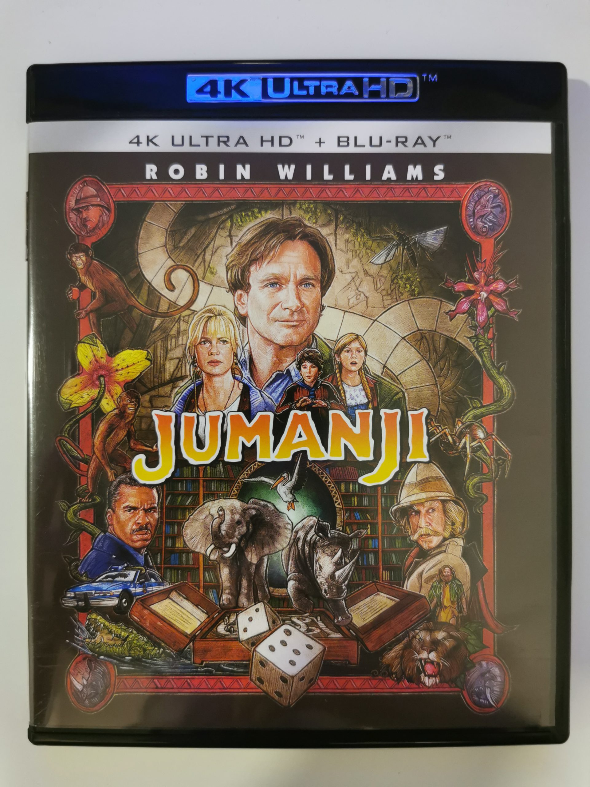 Jumanji colección de 3 películas 07