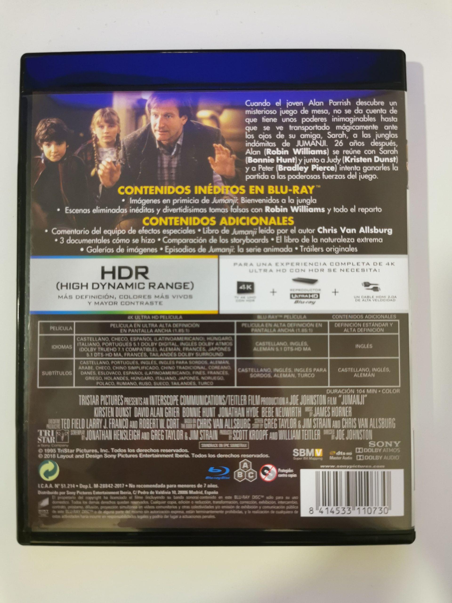 Jumanji colección de 3 películas 09