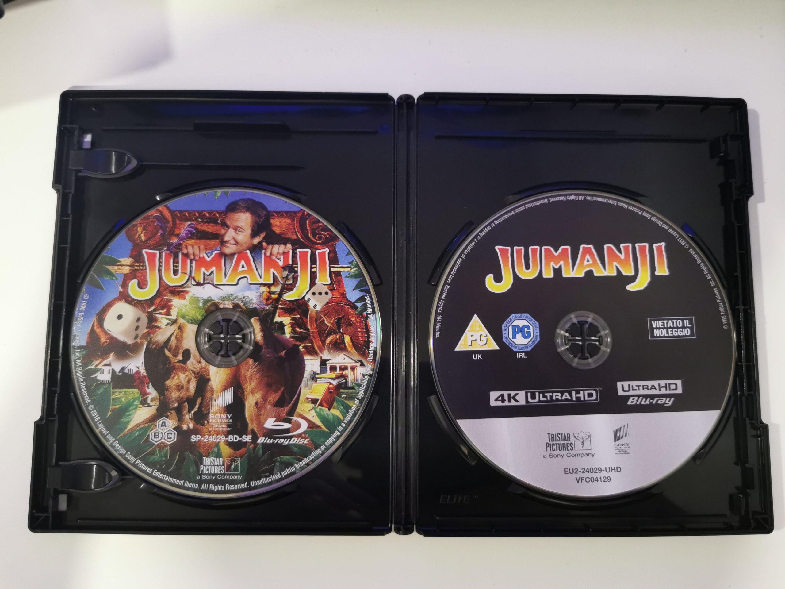 Jumanji colección de 3 películas 11
