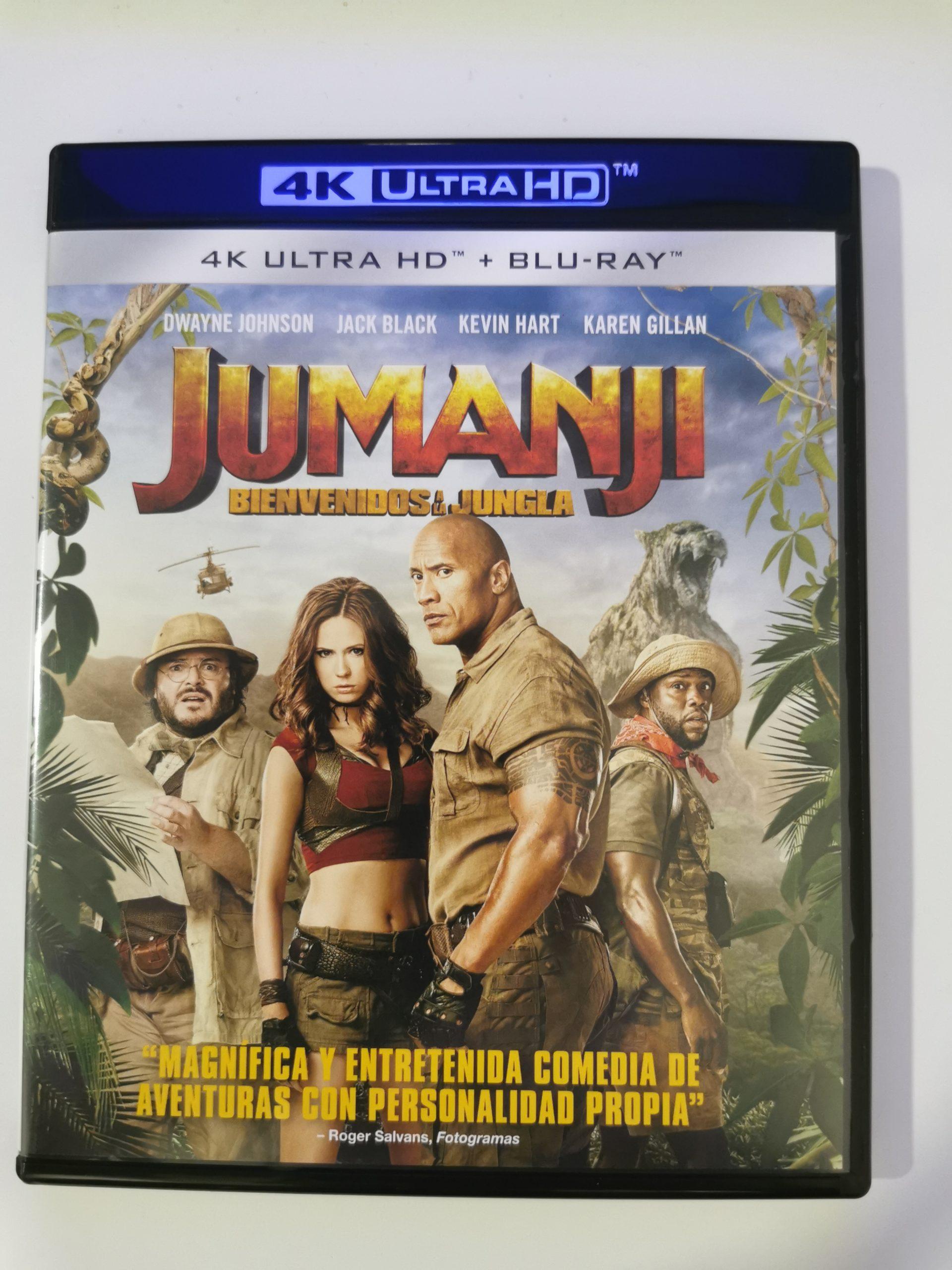 Jumanji colección de 3 películas 12