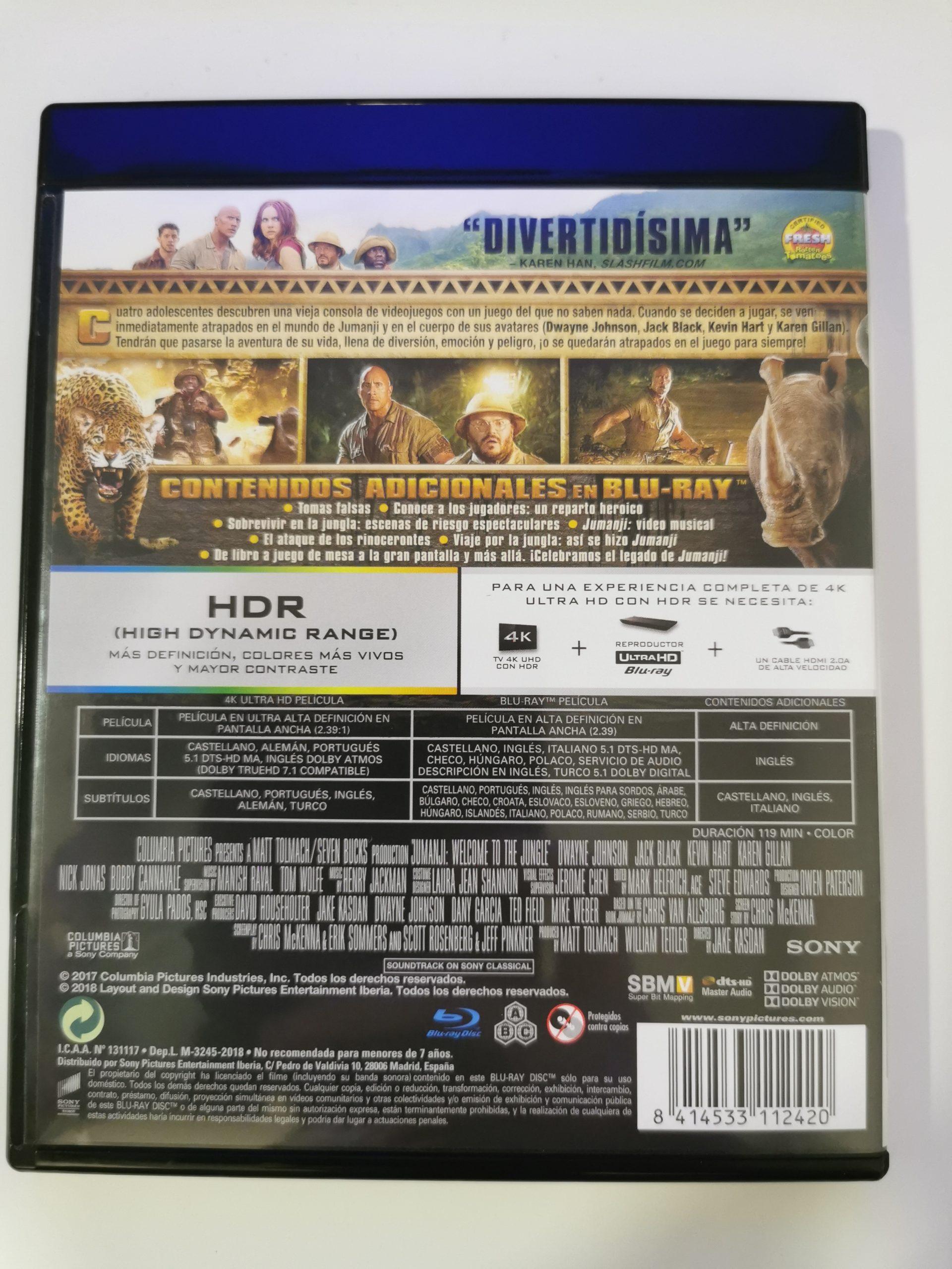 Jumanji colección de 3 películas 10