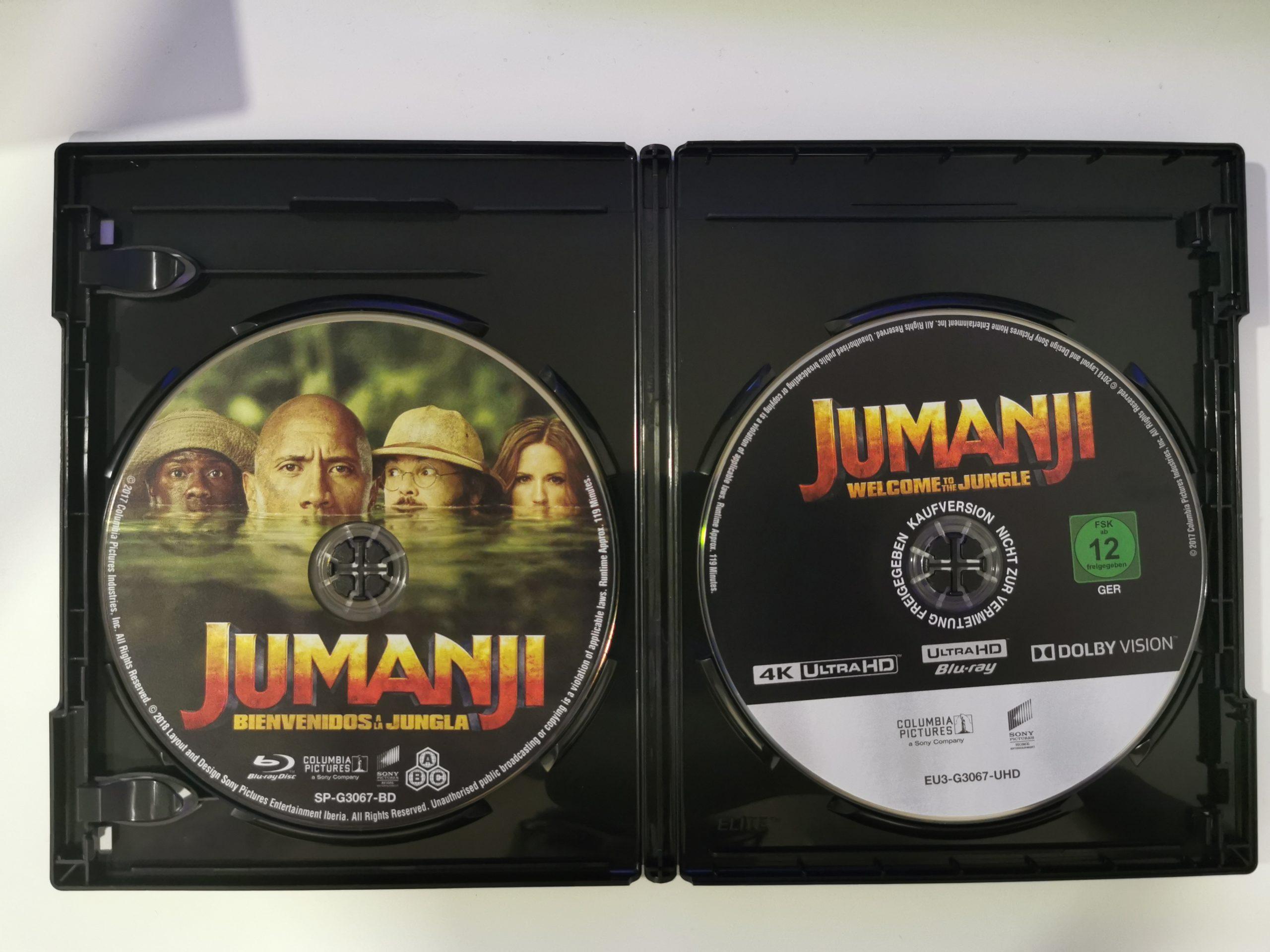 Jumanji colección de 3 películas 13