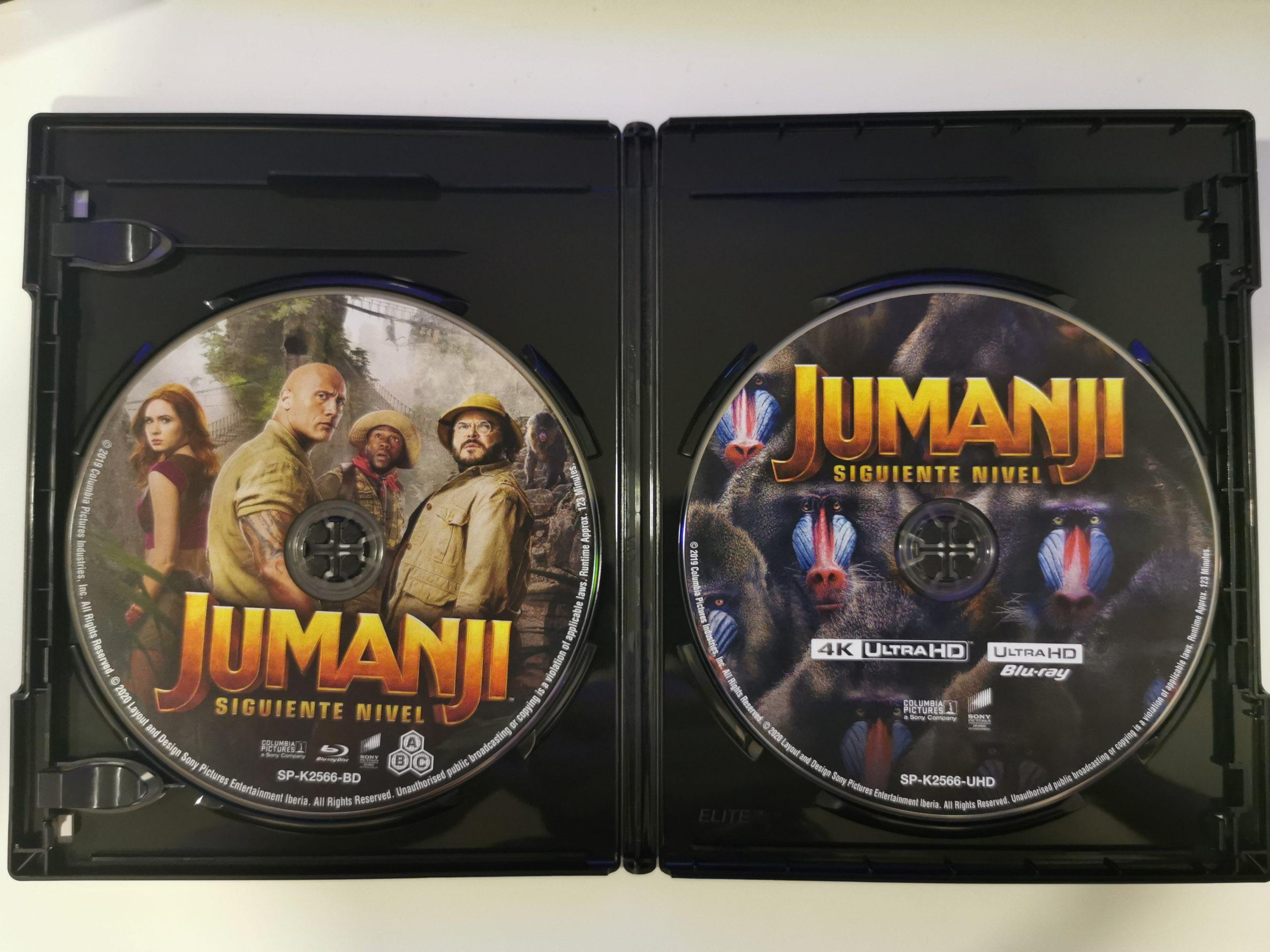 Jumanji colección de 3 películas 16