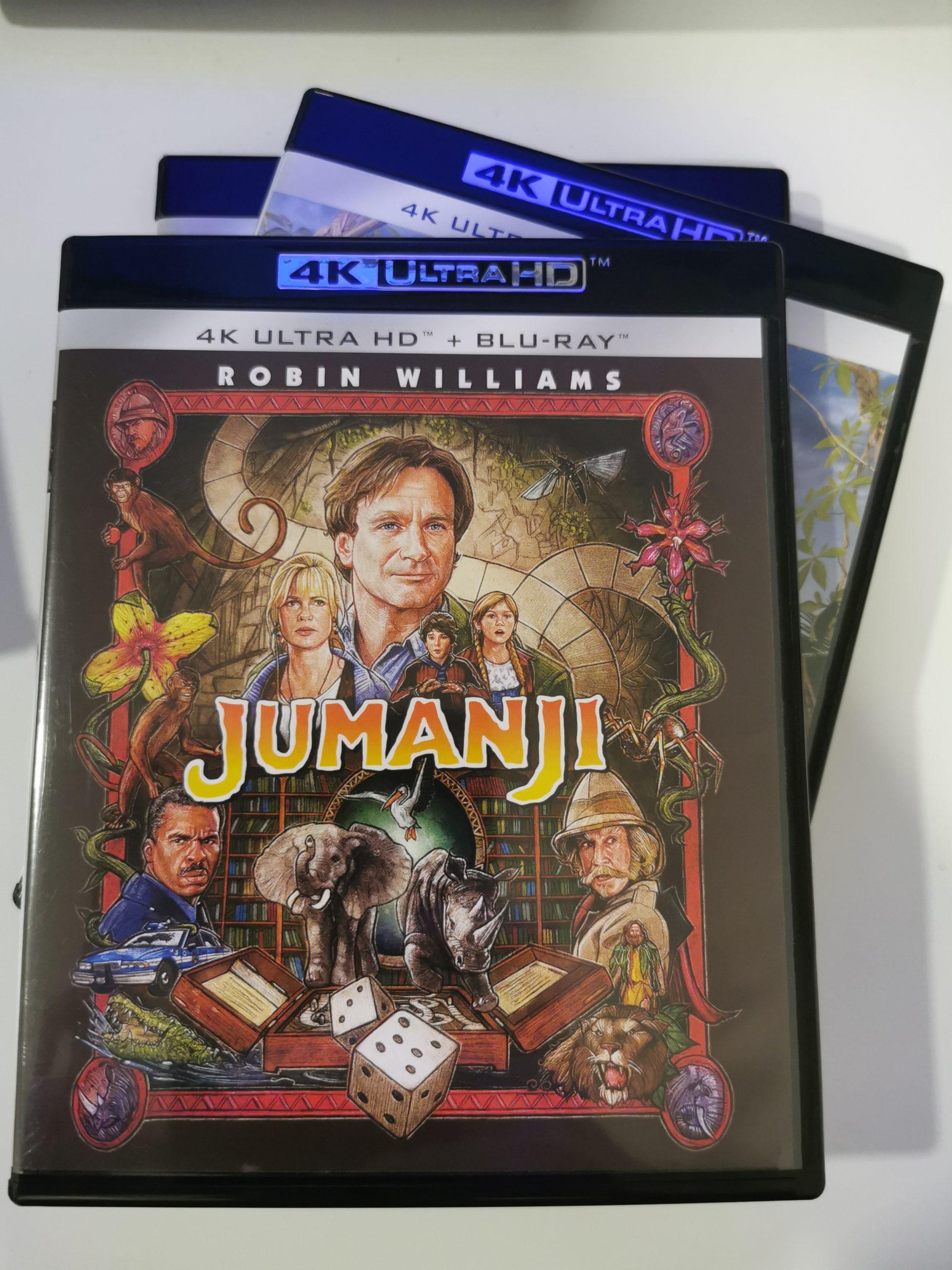 Jumanji colección de 3 películas 17